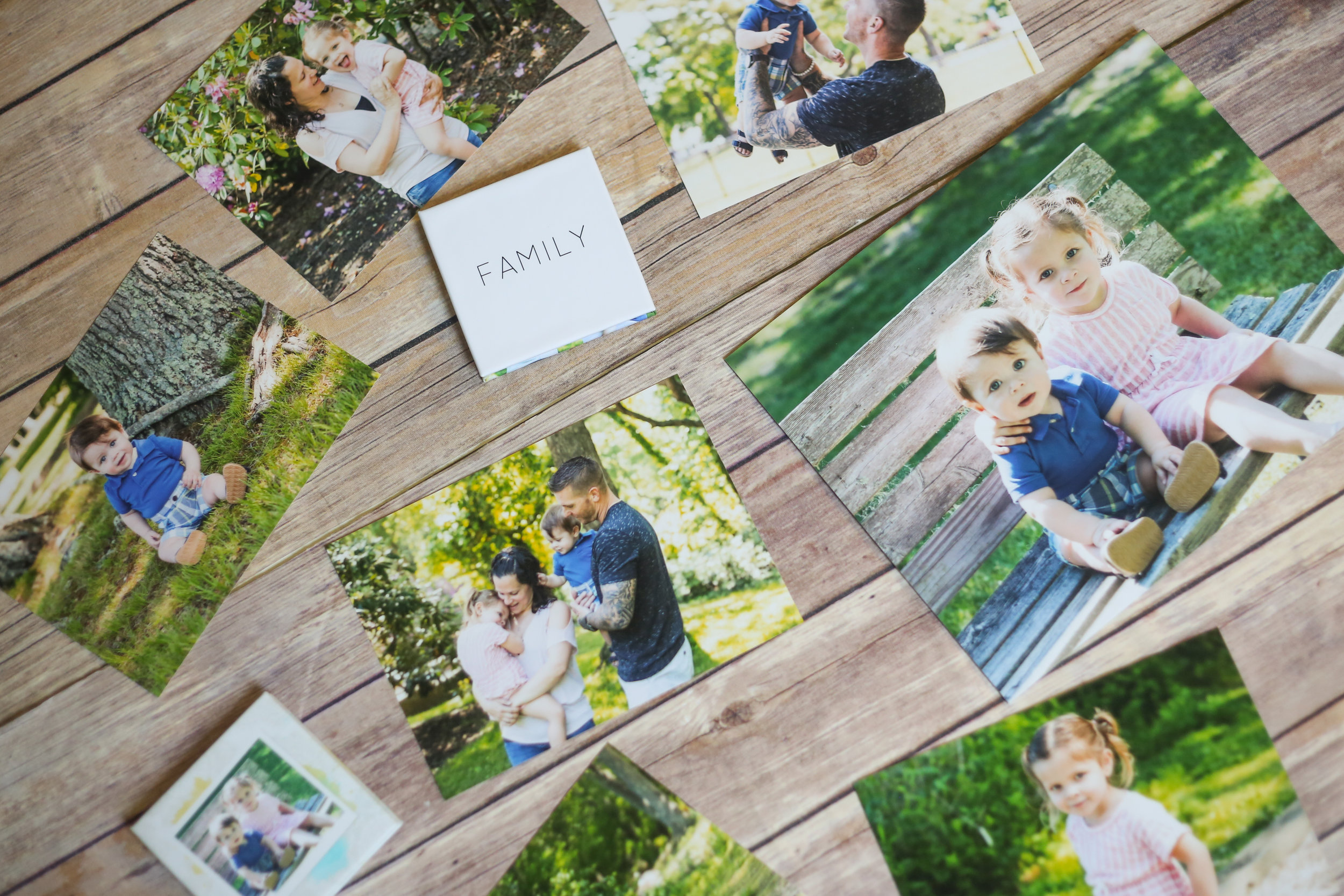 From mounted prints to wall art, there are so many different ways to display your beautiful portraits! -