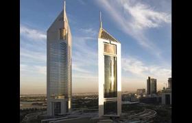 DUBAI - Emirates TowersSheikh Zayed RoadDubai