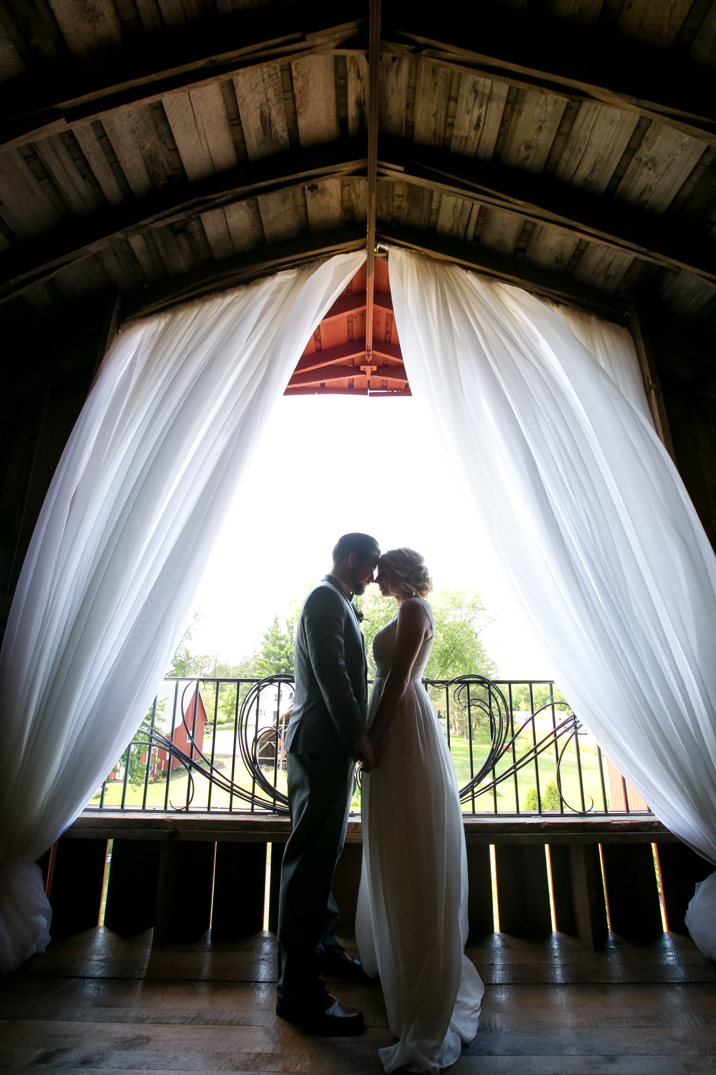 Barn Pavilion Ceiling Draping Services