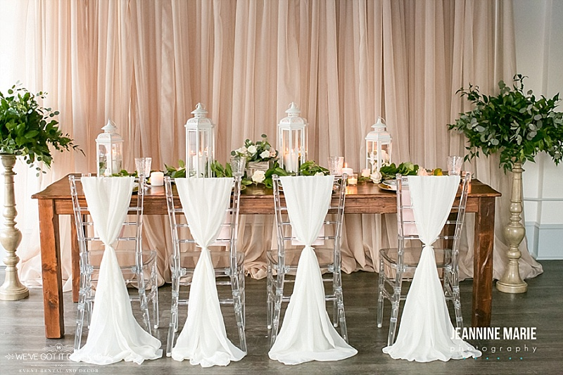 Wedding inspiration with new inventory