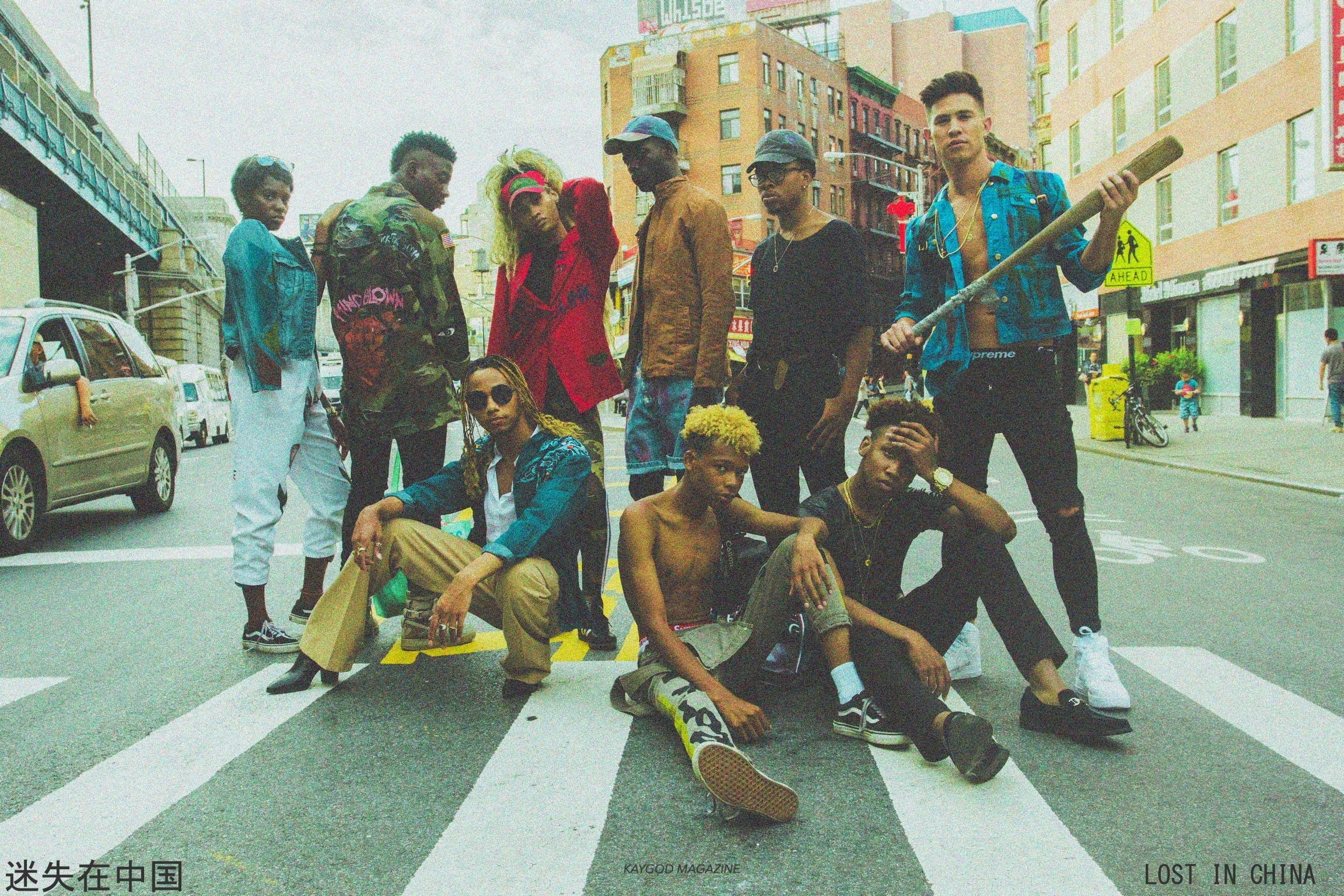 Designer, Sunaé Long, collabs with KAYGOD and more in our loaded Chinatown, NY editorial. - CLICK TO VIEW