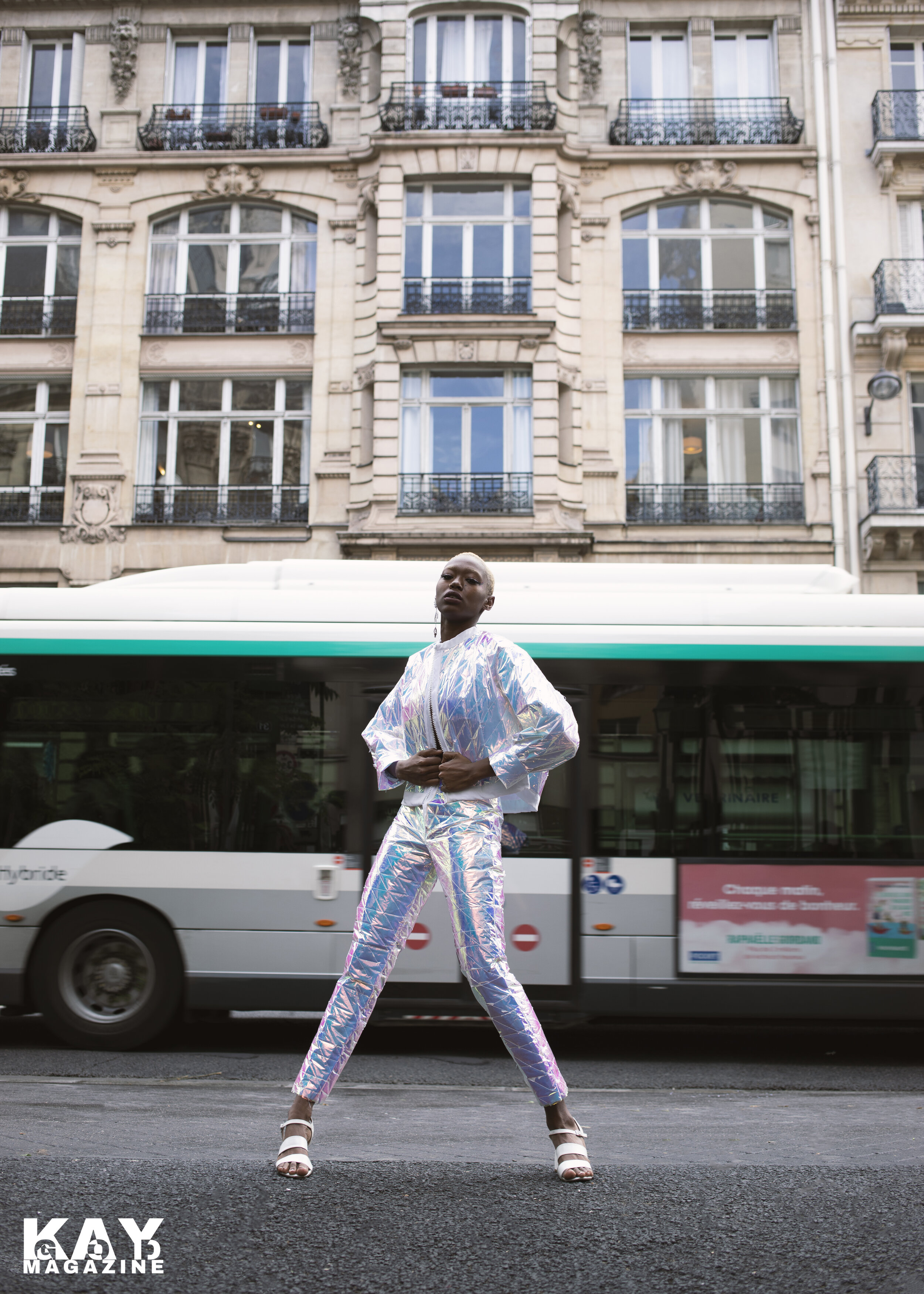 Paris Fashion Week slows down for looks by designer, Nina Geslot - CLICK TO VIEW