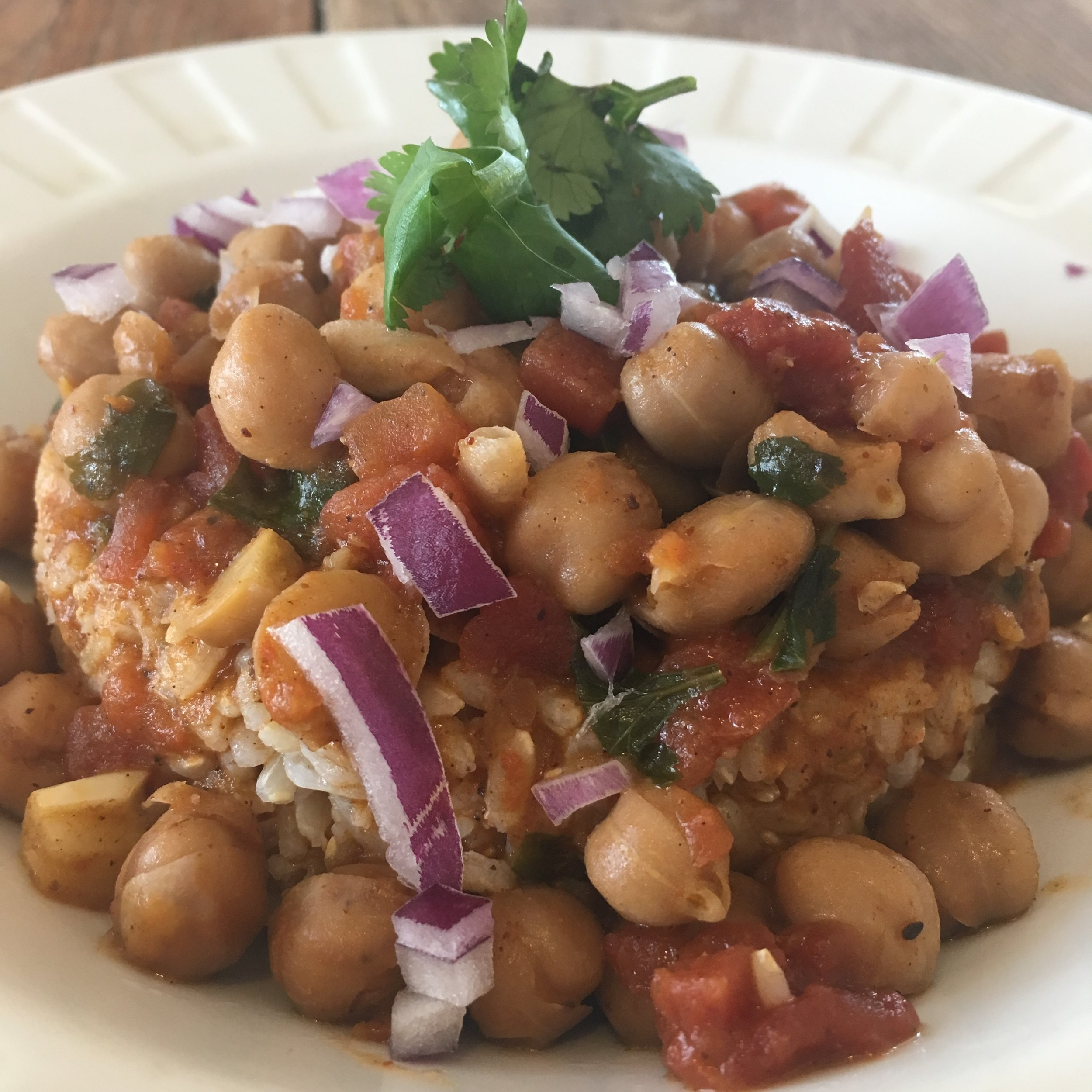 Comforting Chickpea Curry