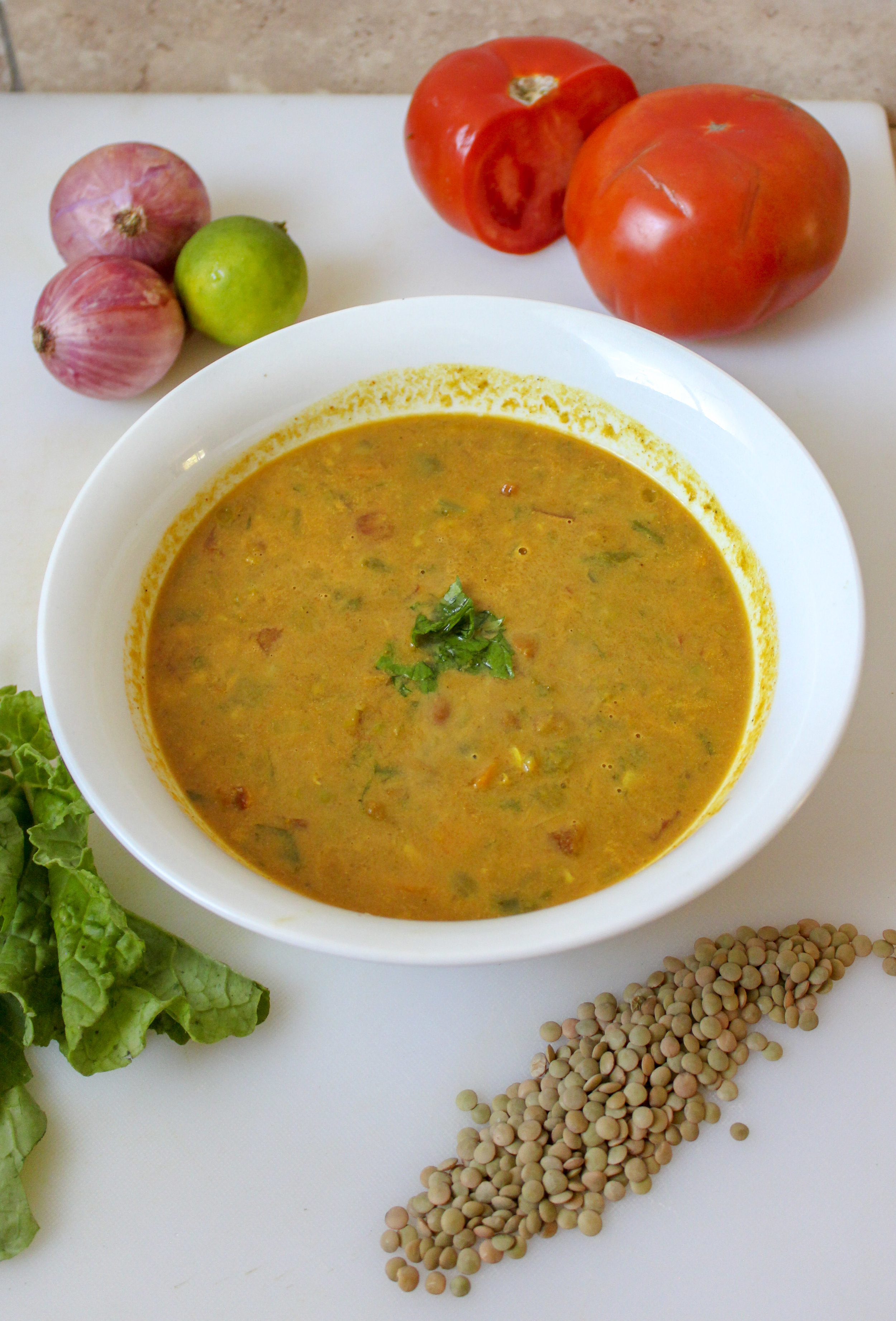 Creamy Coconut Curry Vegetable Soup. Full of lentils, red beans, coconut milk and vegetables. Healthy, gluten free and vegan. Delicious easy and quick soup. #vegan #vegansoup #curry #quick #easy www.mariamusicmunchies.com