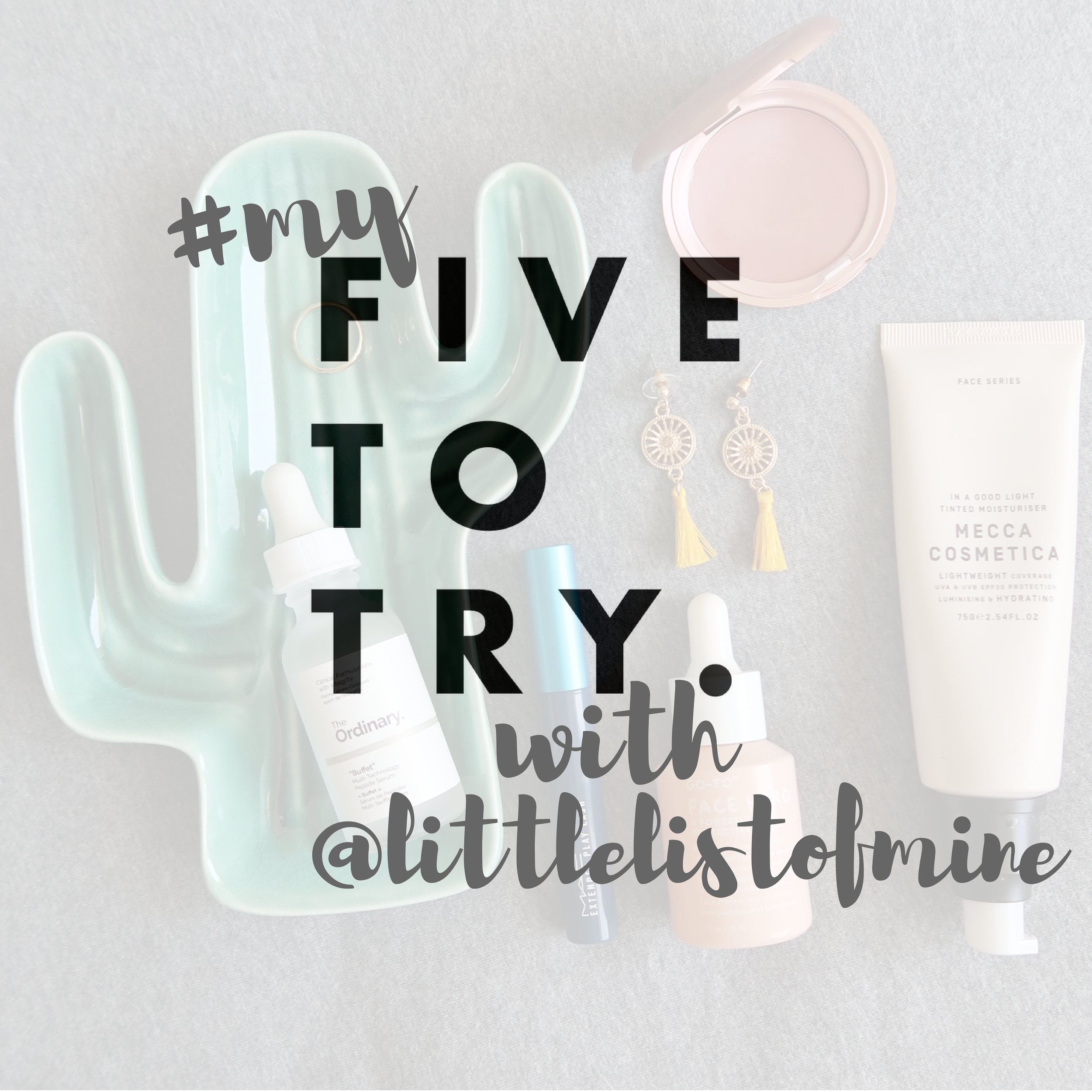 5 Beauty Products I Use Every Single Day with @littlelistofmine -