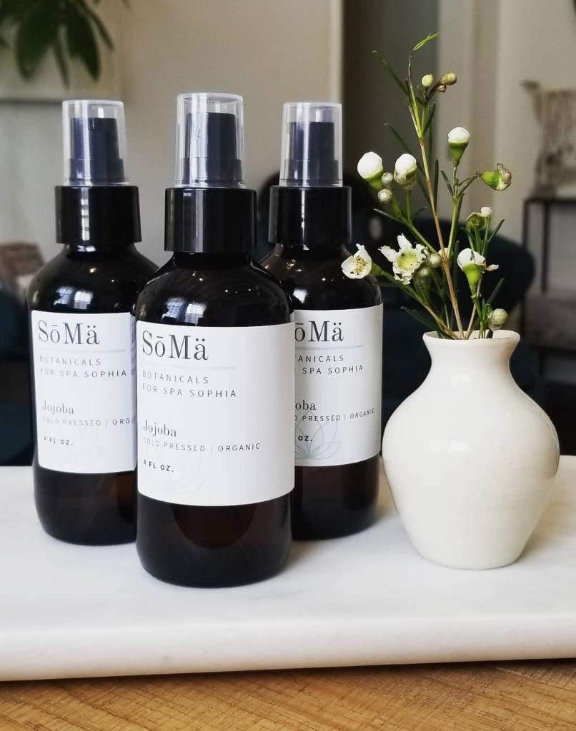 SōMä Botanicals for Spa Sophia Pure Jojoba $25
