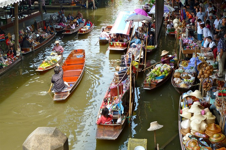 "ASIA VACATION INSPIRATION - 16 DAYSVietnam, Cambodia & ThailandA buggy ride through the Old Quarter of Hanoi, a cyclo ride through the remains of Imperial HuéGuided visits to UNESCO World Heritage Sites including Angkor, Hué and Hoi AnSee Bangkok's golden Reclining Buddha, Hué's Imperial Citadel on the Perfume River, and the Cu Chi Tunnels of VietnamDiscover Southeast Asian life on the water on a cruise along the Perfume River in Hué, through the klongs of Bangkok, and on Siem Reap's Tonle Sap LakeA private tour of the Jim Thompson House, the art-filled home of an American-born silk entrepreneur and legendary figure in BangkokA scenic drive to the hilltop, 14th-century temple of Wat Doi Suthep, overlooking the verdant landscape of Chiang MaiHill tribe village visits to meet people of the Padong, Palong and Karen tribes of Chiang MaiA two-night resort stay on Vietnam's ""new"" China Beach, one of the finest beaches in Asia"