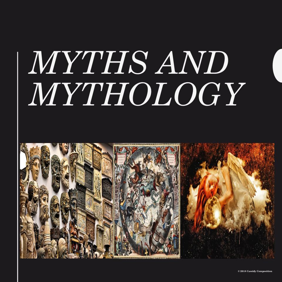 Introduction to Myths and Mythology