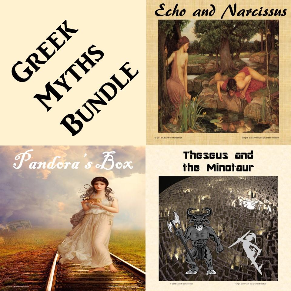 Greek Myths Bundle