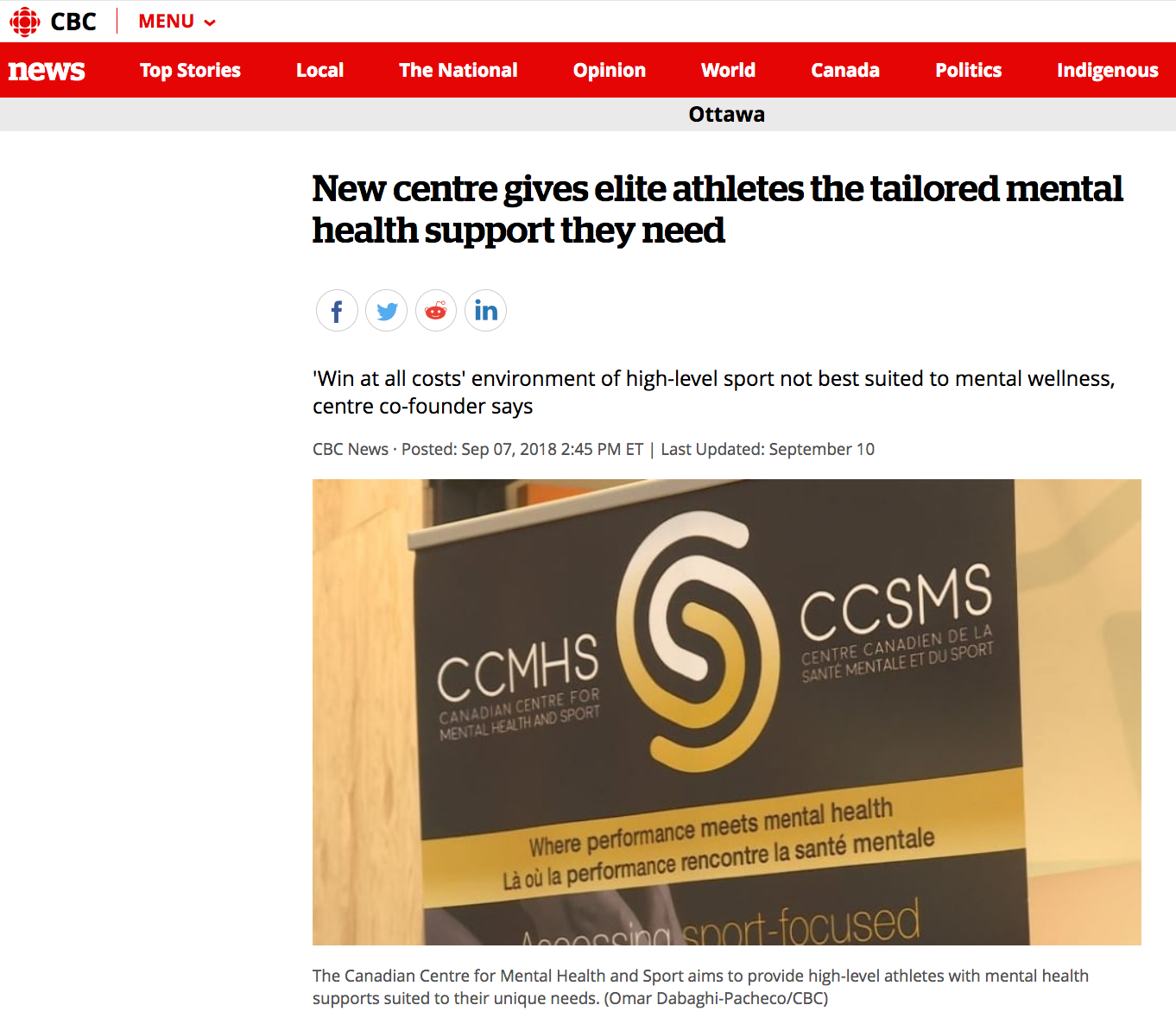 Copy of New centre gives elite athletes the tailored mental health support they need