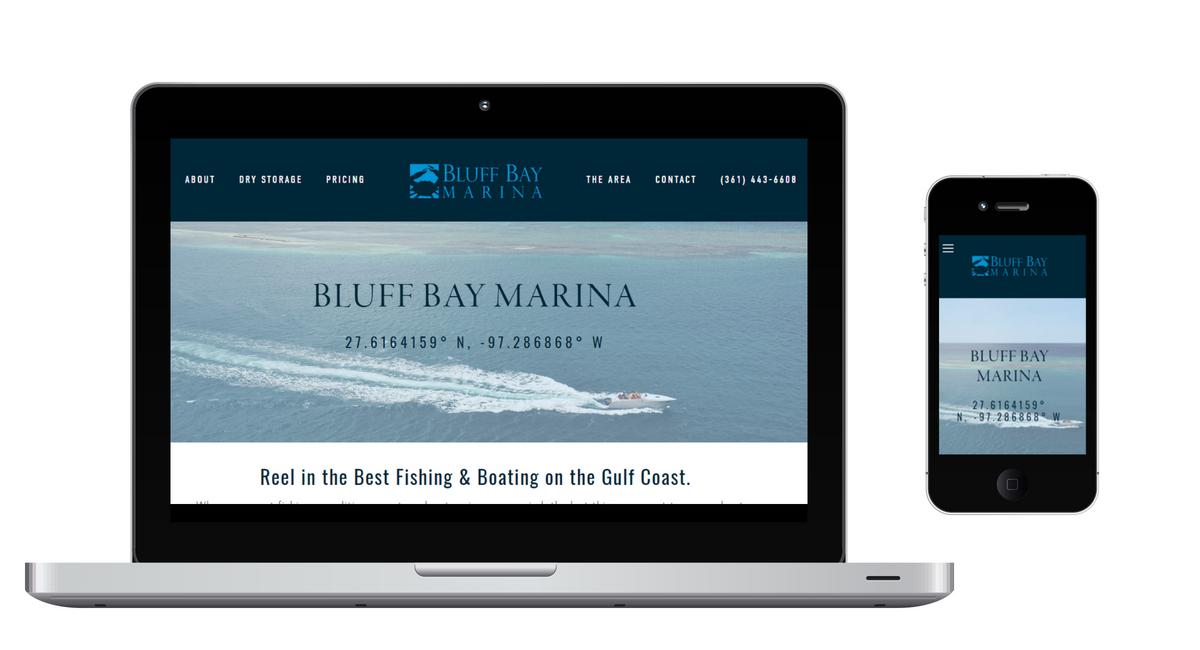 Bluff Bay Marina - Screens