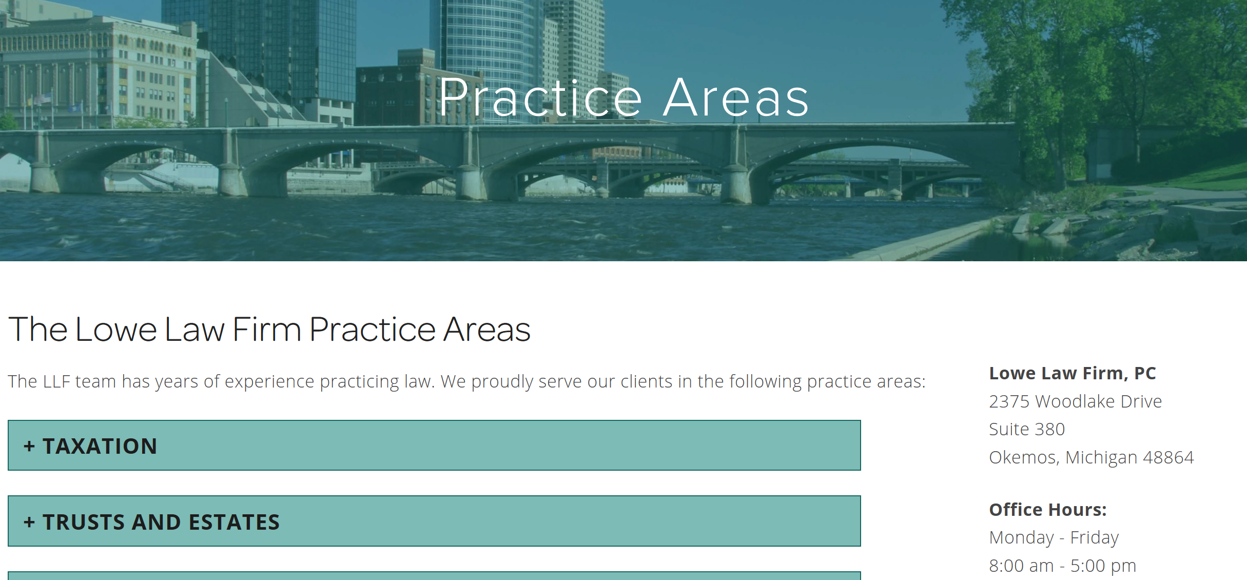 Lowe Law Firm - Practice Areas