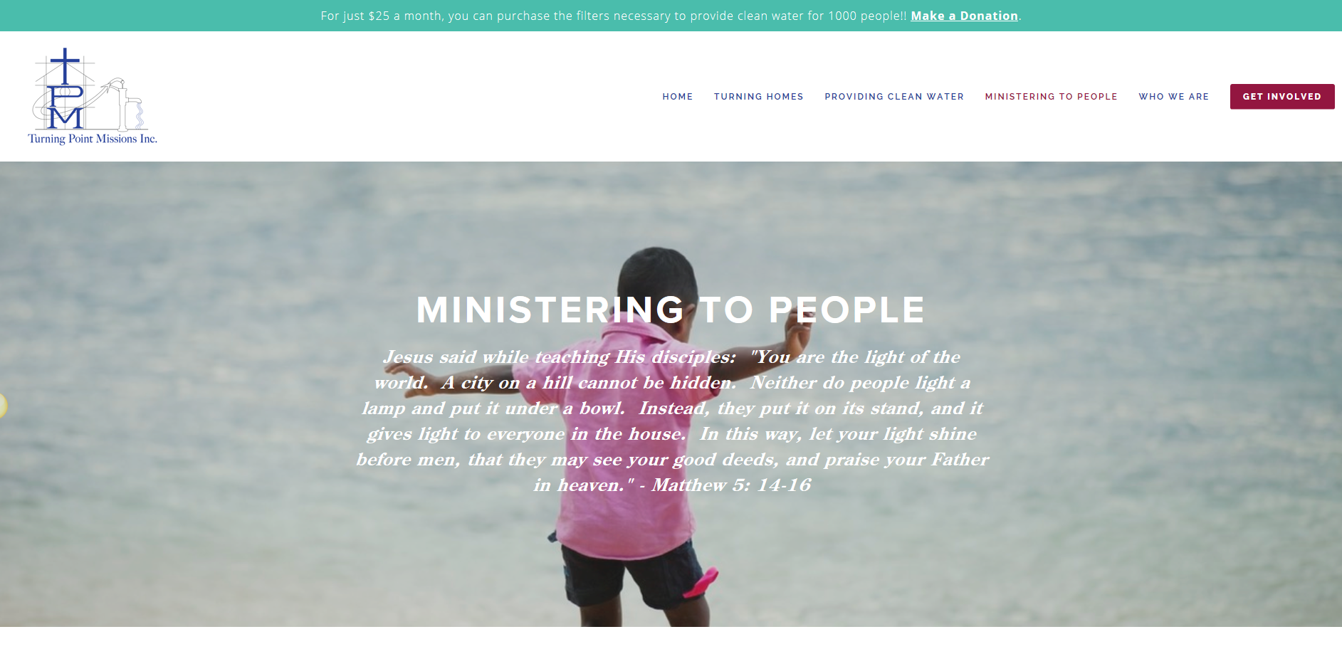Turning Point Missions - Ministering