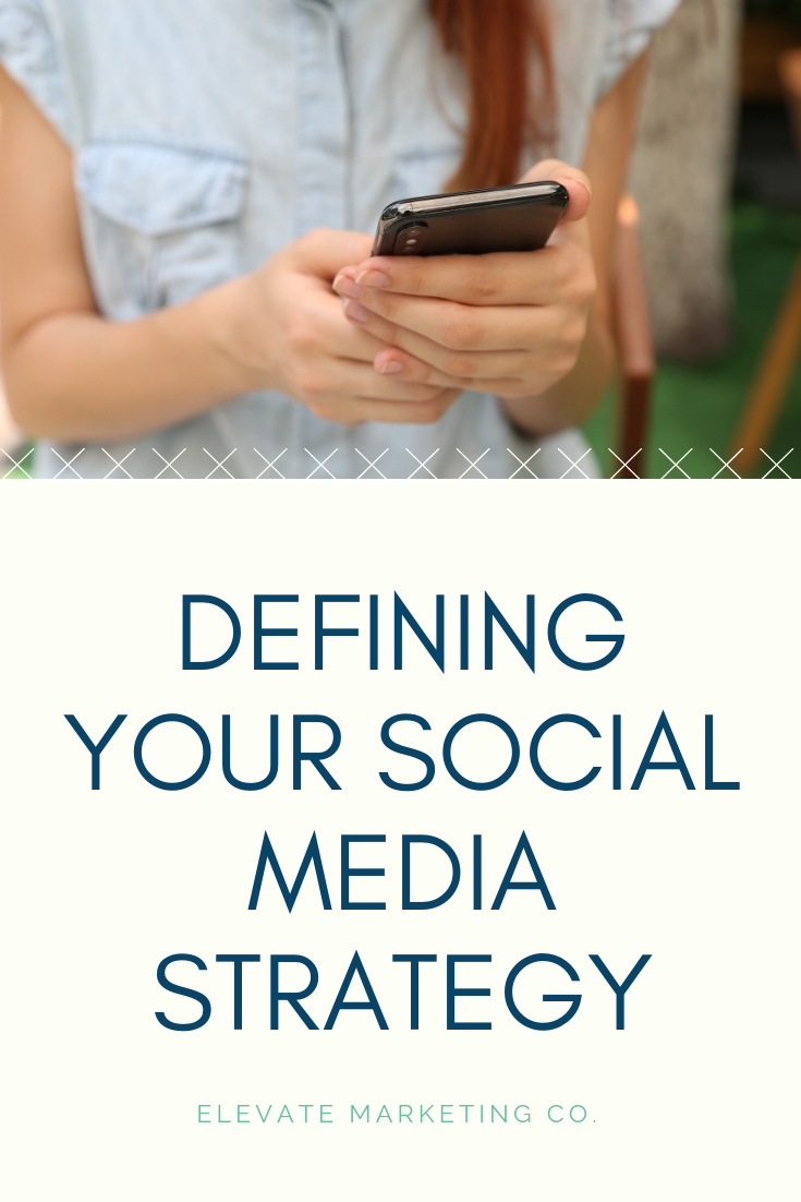Defining your social media strategy