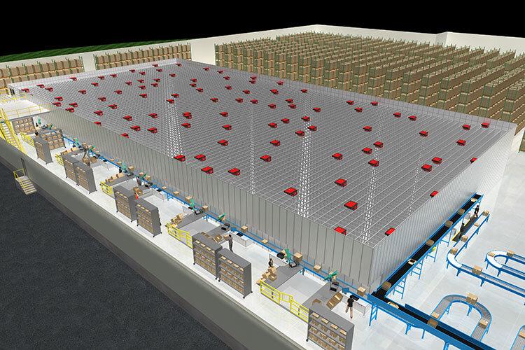 Autostore Warehouse Automation