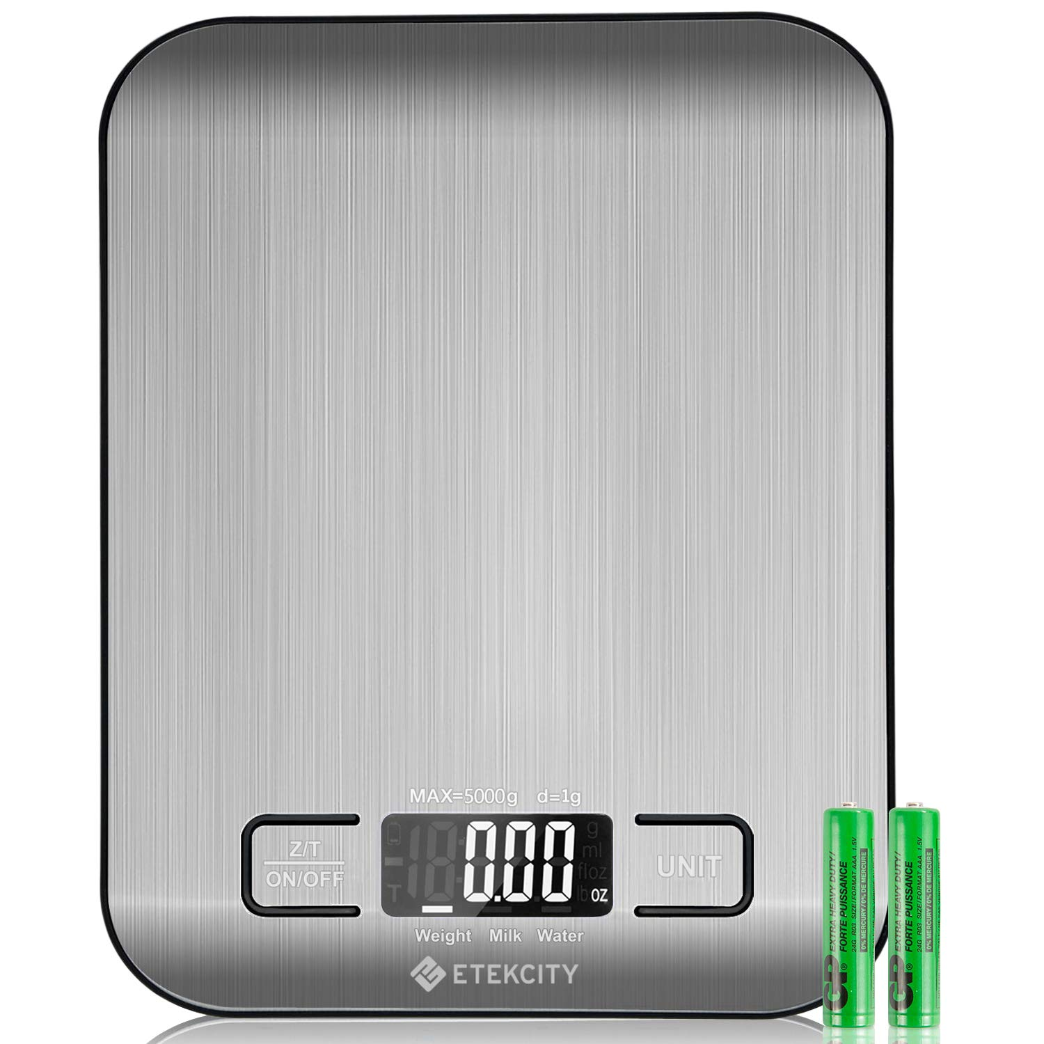 Etekcity Digital Kitchen Food Scale (Batteries Included) -