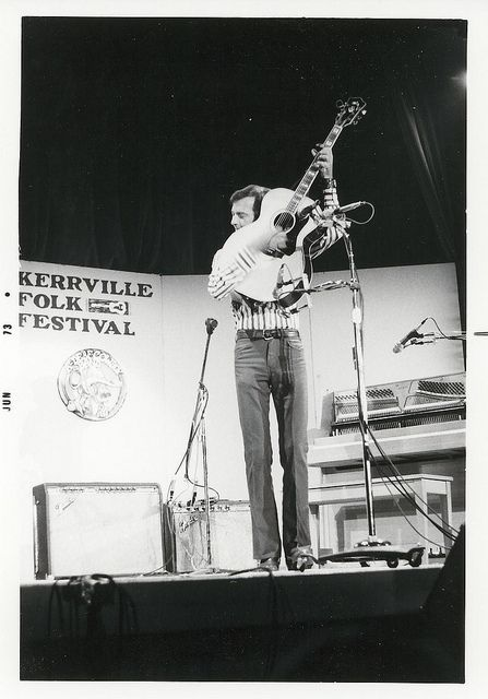 Allen Damron, 1973 Playing Main Stage