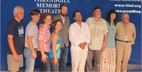 2010 Winners with Dalis, Rod and Steve (Left to Right: Steve, Dan, Kim, Kate, Andy, Michael, Jon, Dalis and Rod)