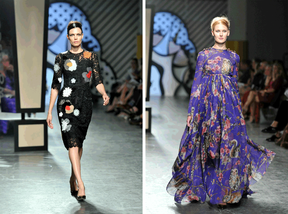 Floral Prints Fall 2014 Fashion Trend