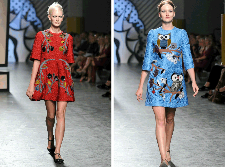 Novelty Prints Fall 2014 Fashion Trend