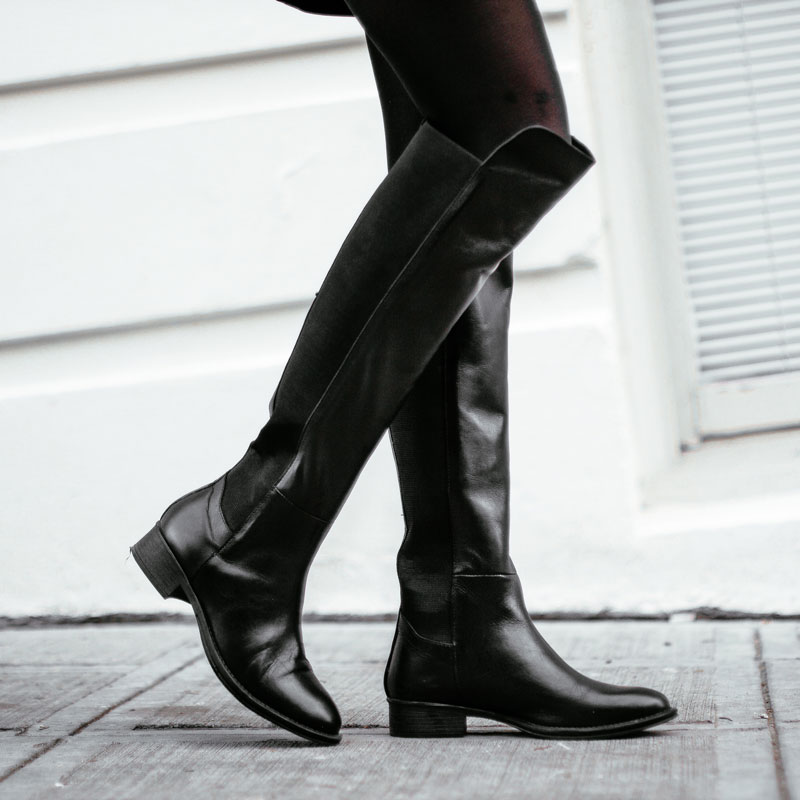 Styling Tips for Wearing Over-the-knee Boots
