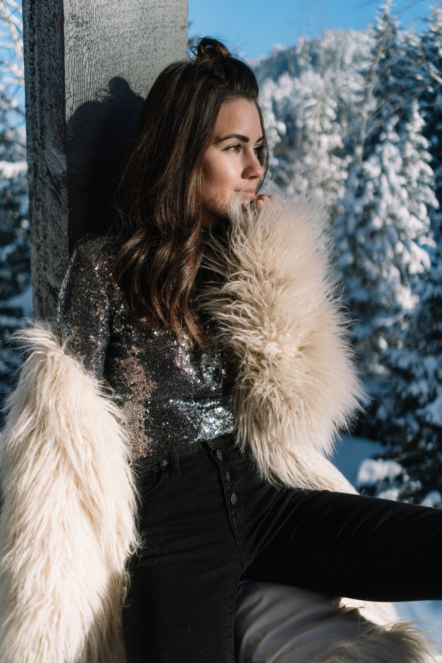new years eve snow sequin fur outfit whistler6.jpg