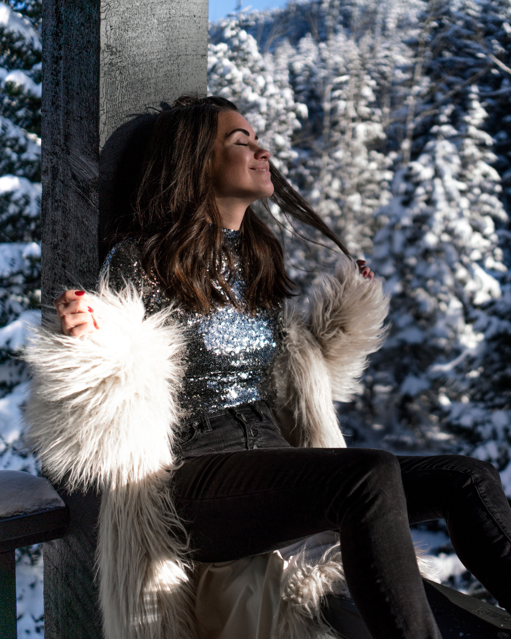 new years eve snow sequin fur outfit whistler5.jpg