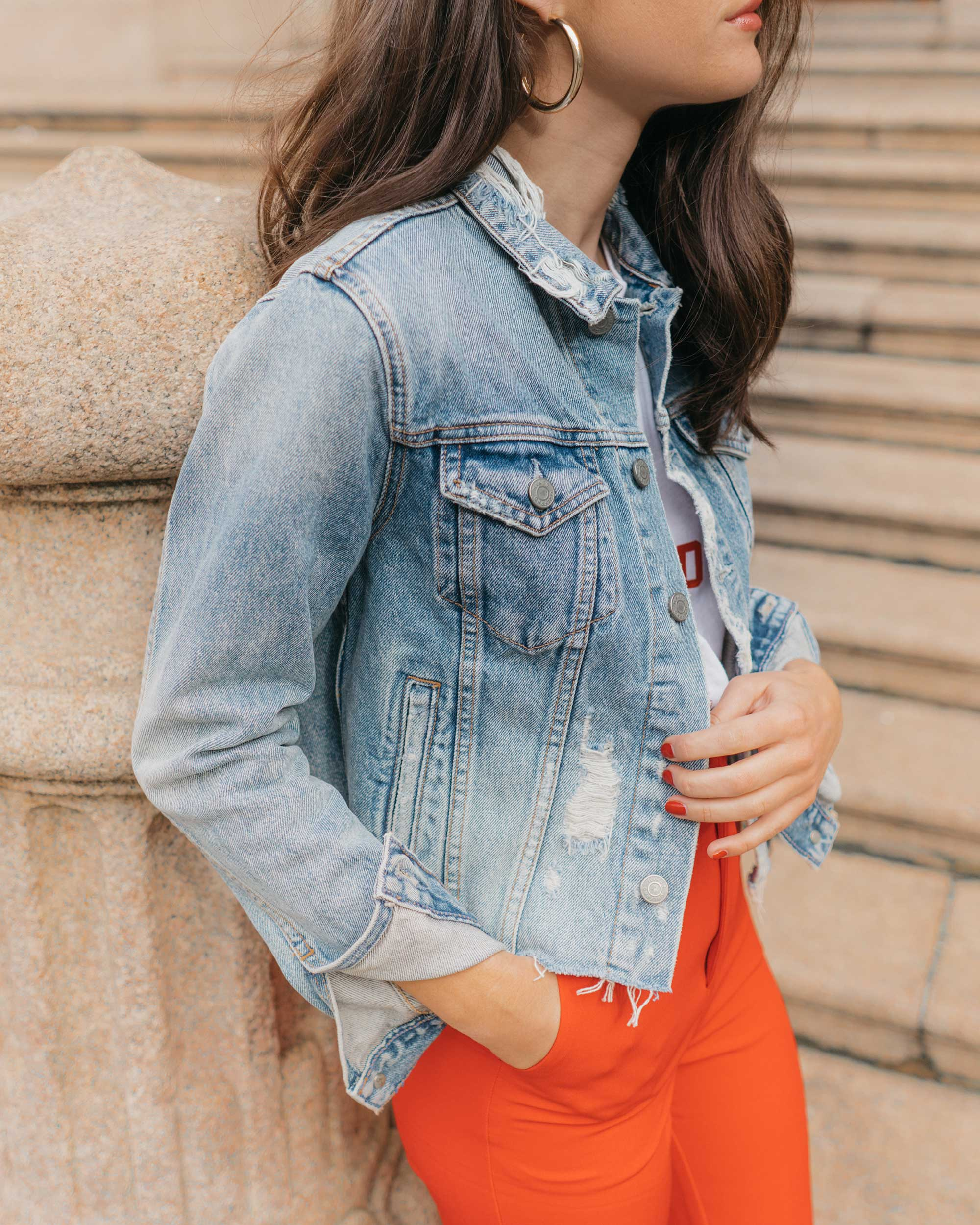 Red-Skinny-Pants,-All-You-Need-Is-Love'-Slogan-T-Shirt,-Cara-Cropped-Denim-Jacket,-Milan-Spring-Outfit-7.jpg
