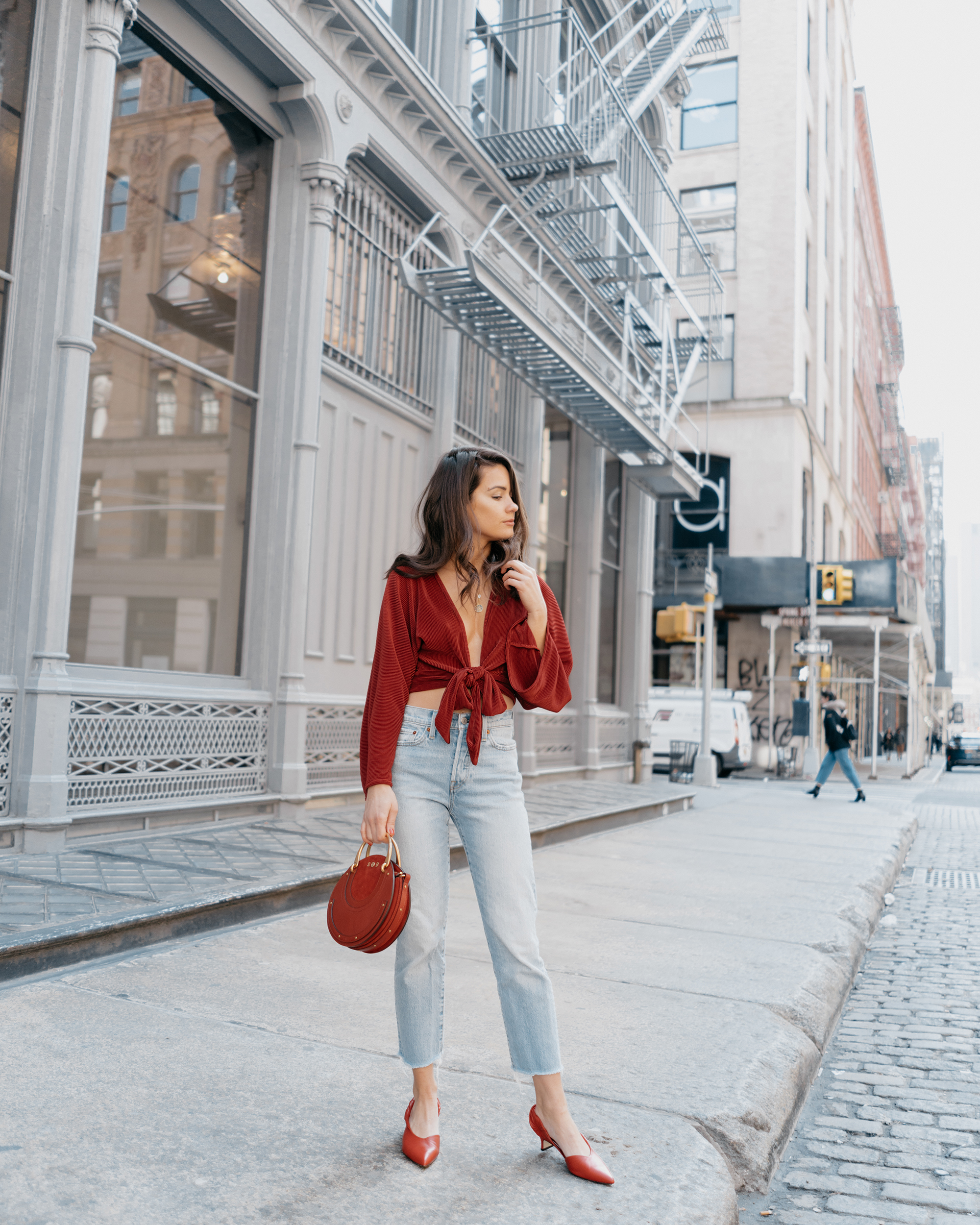 Red-Kimono-Tie-Front-Top-Ruby-Chloe-Pixie-Leather-Crossbody-Bag-1.jpg