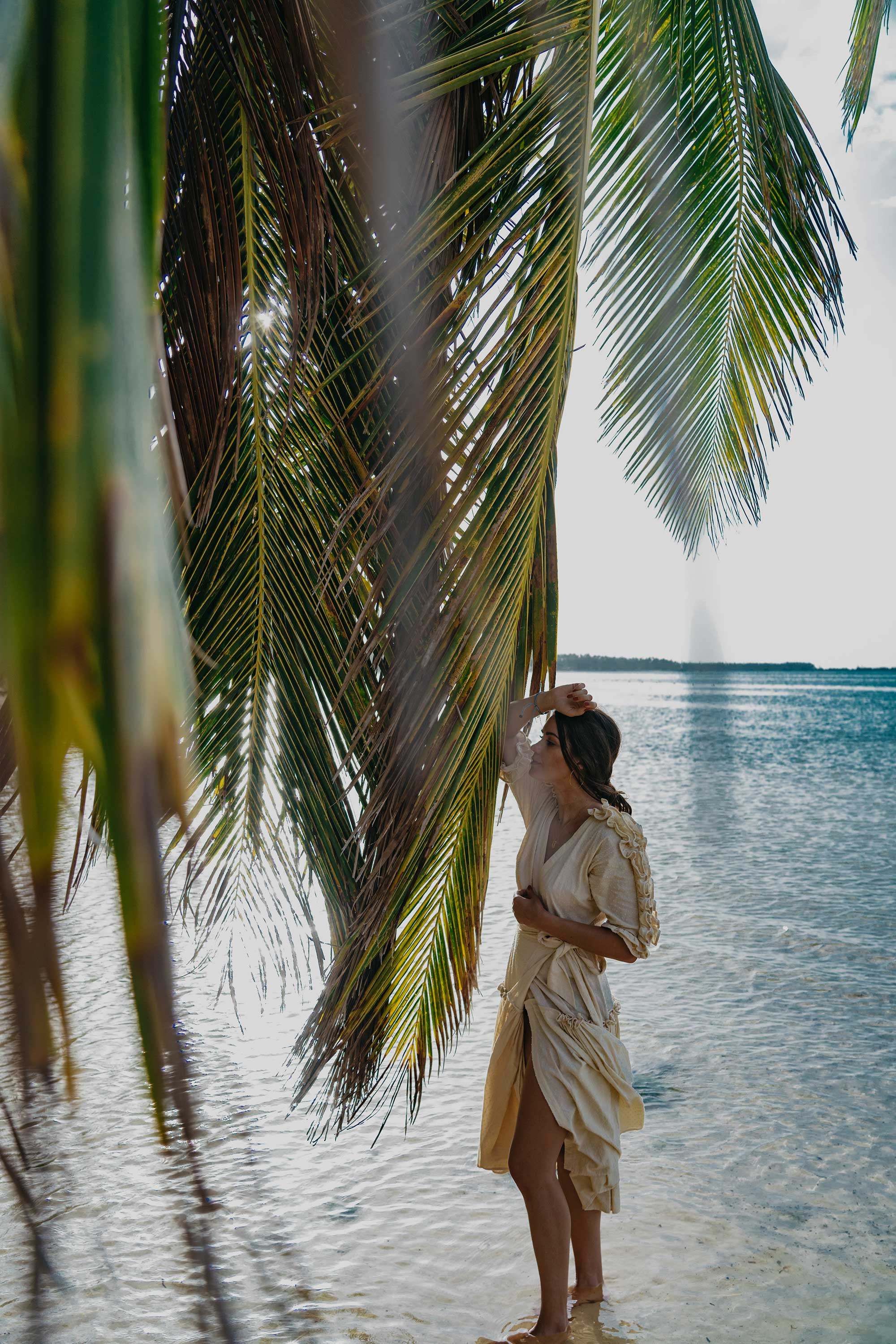 Wrap Dress with Ruffles Dominican Republic vacation getaway outfit12.jpg