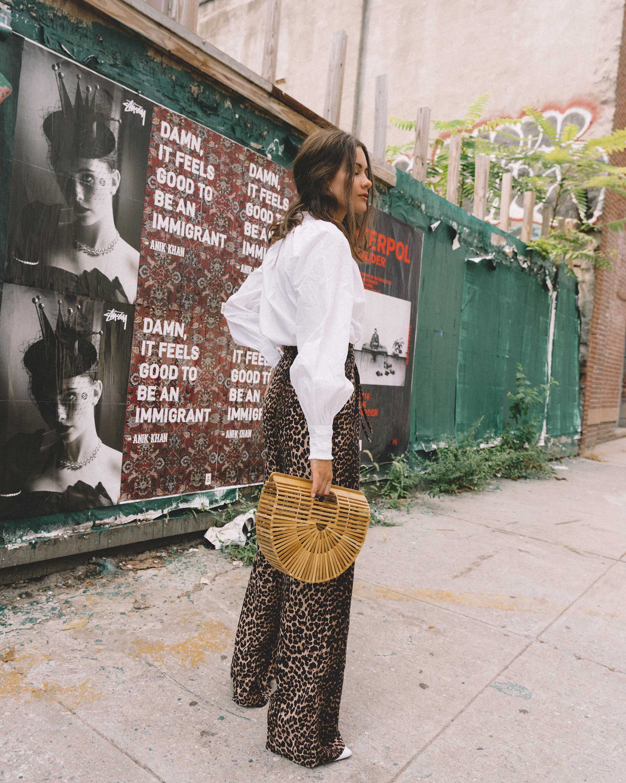 Paige high-rise culottes leopard print new york fashion week outfit12.jpg
