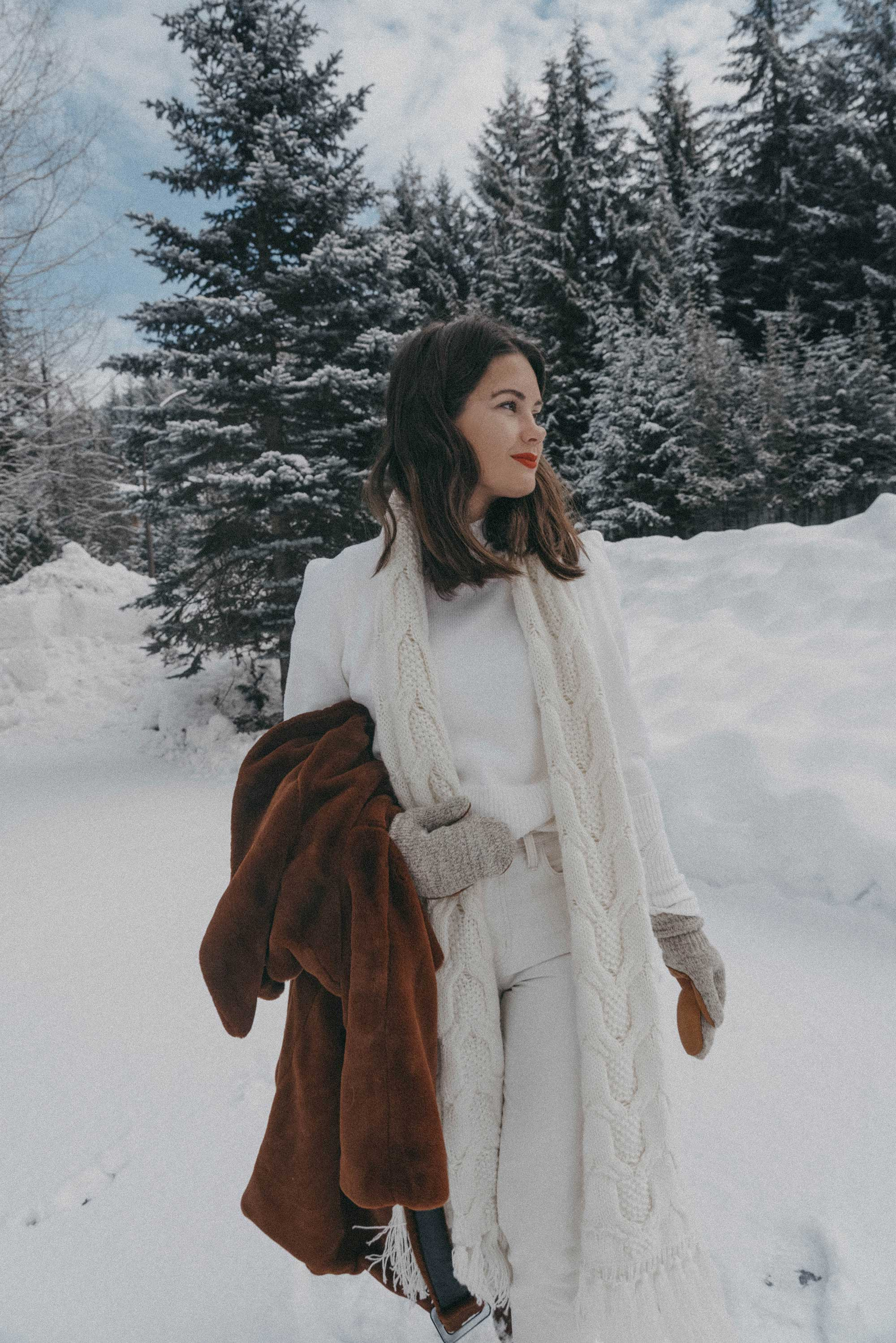Whistler snow travel outfit brown faux fur coat-7.jpg