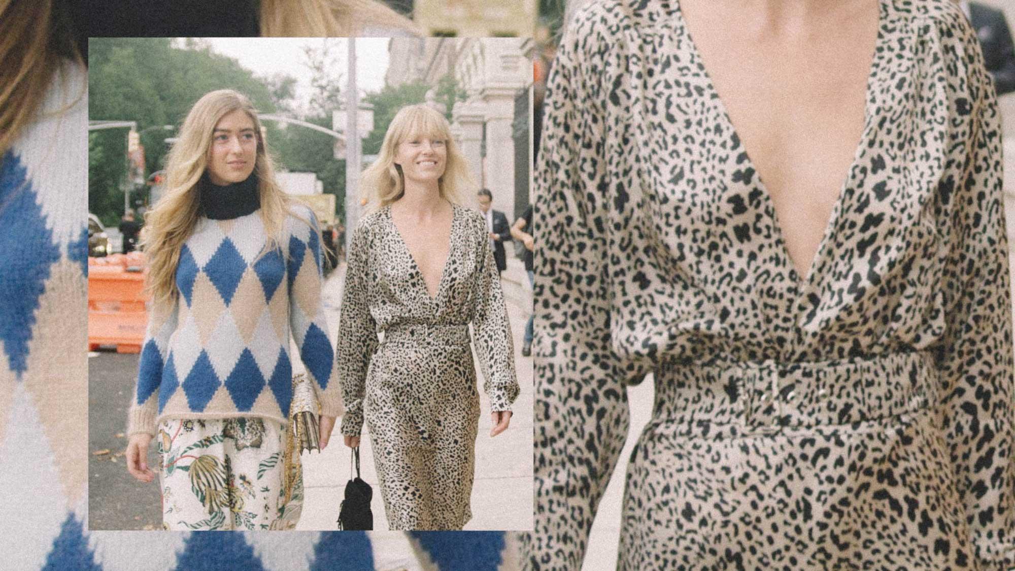 10 Easy Ways to Pull Off Leopard Print, silk leopard dress street style.jpg