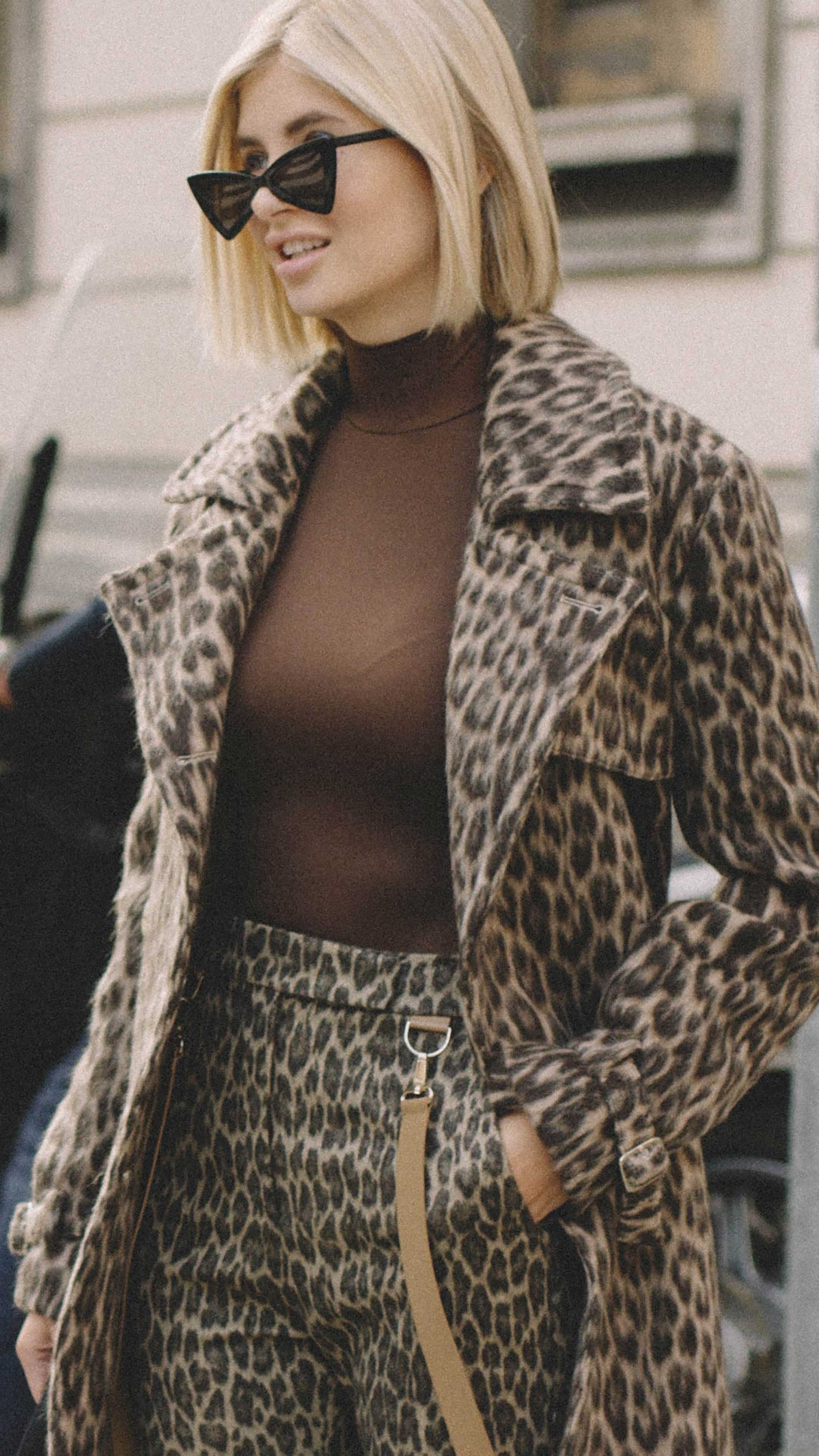 10 Easy Ways to Pull Off Animal Print, leopard suit, Xenia Overdose Street Style Milan.jpg