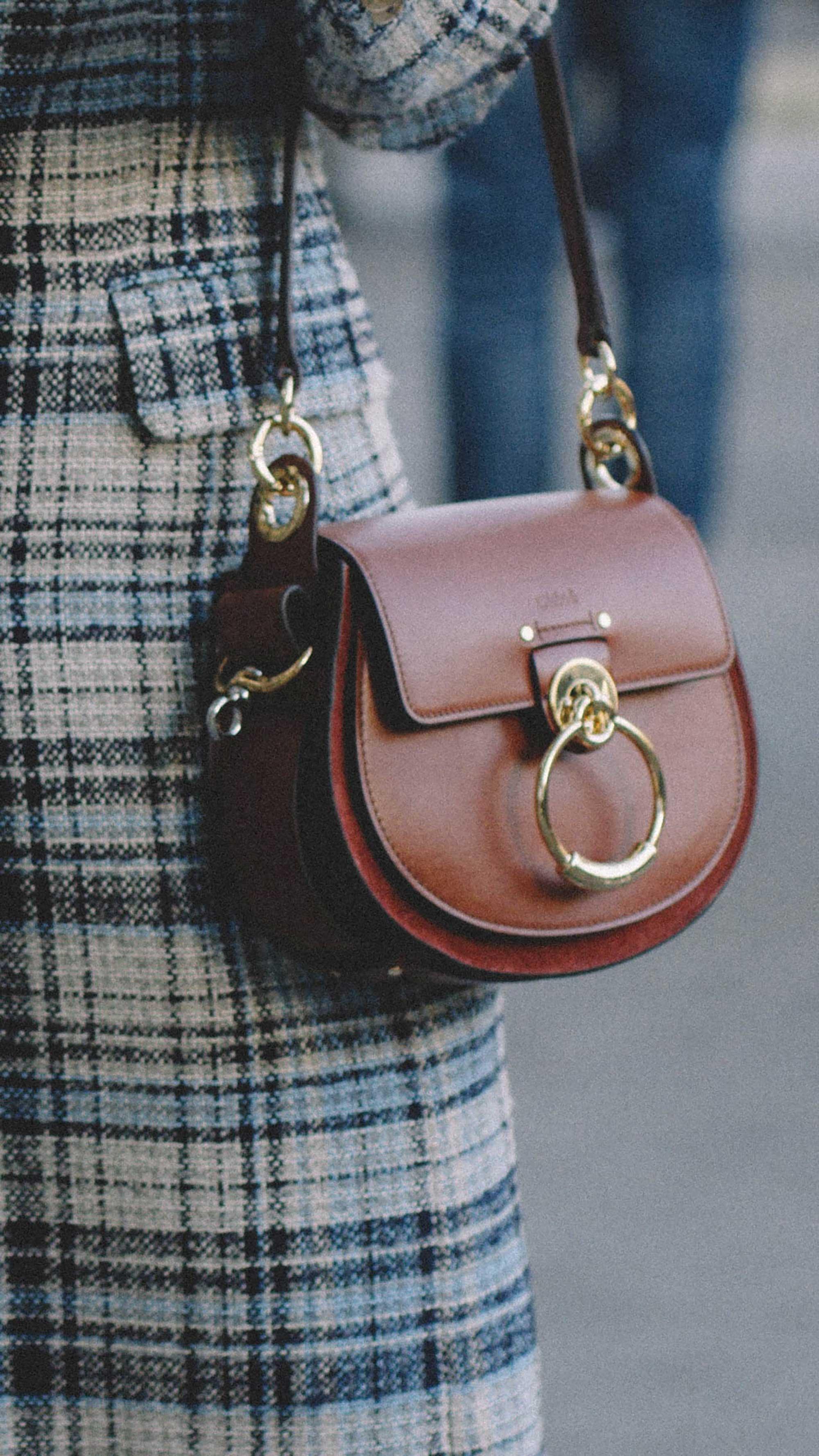 12 Best Chloe bags of Fashion Week -  CHLOe Roy mini leather bucket bag and Chloe Small Tess Leather Shoulder Bag2.jpg