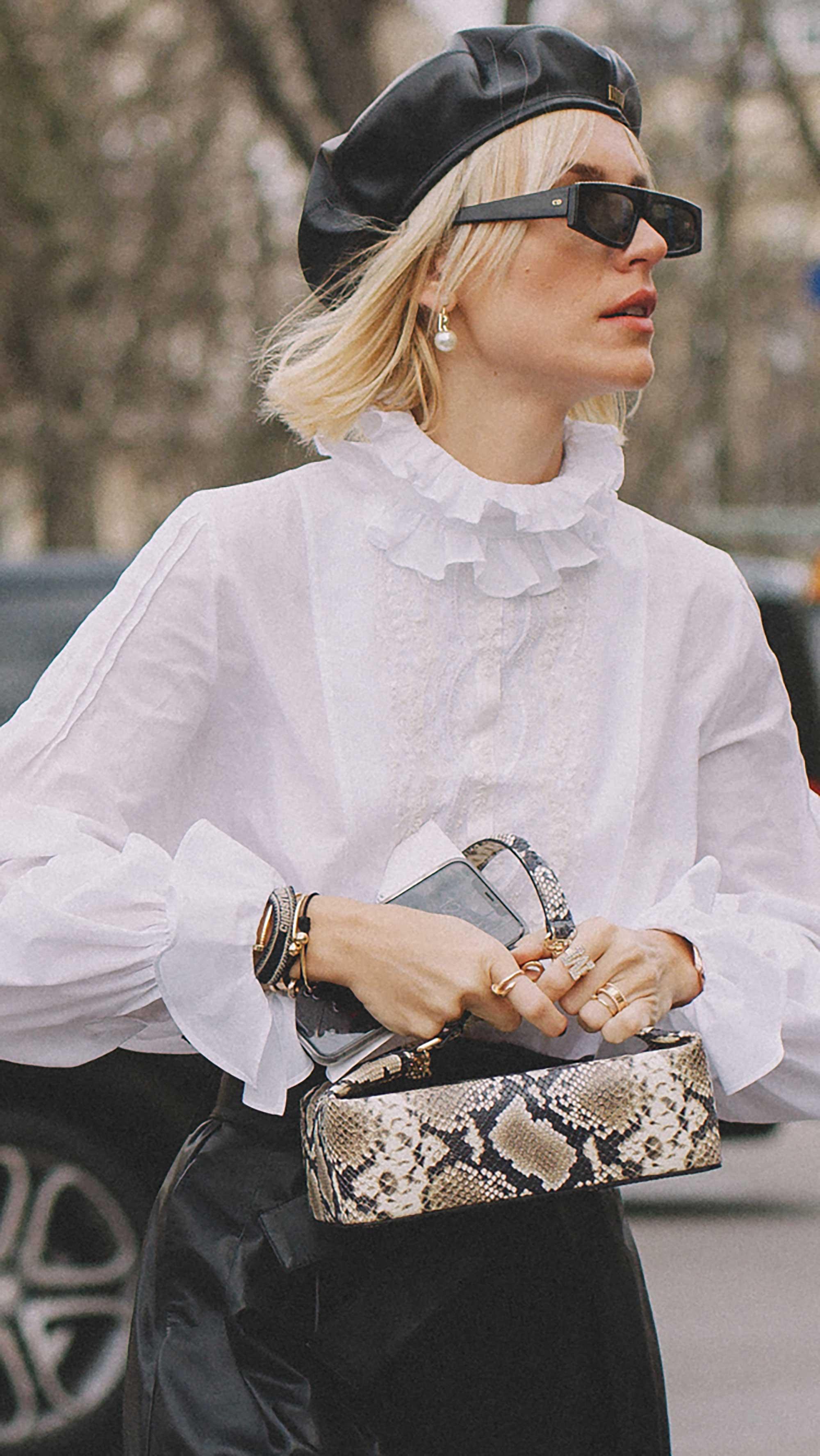 Best outfits of Paris Fashion Week street style day three PFW FW19 - 45.jpg