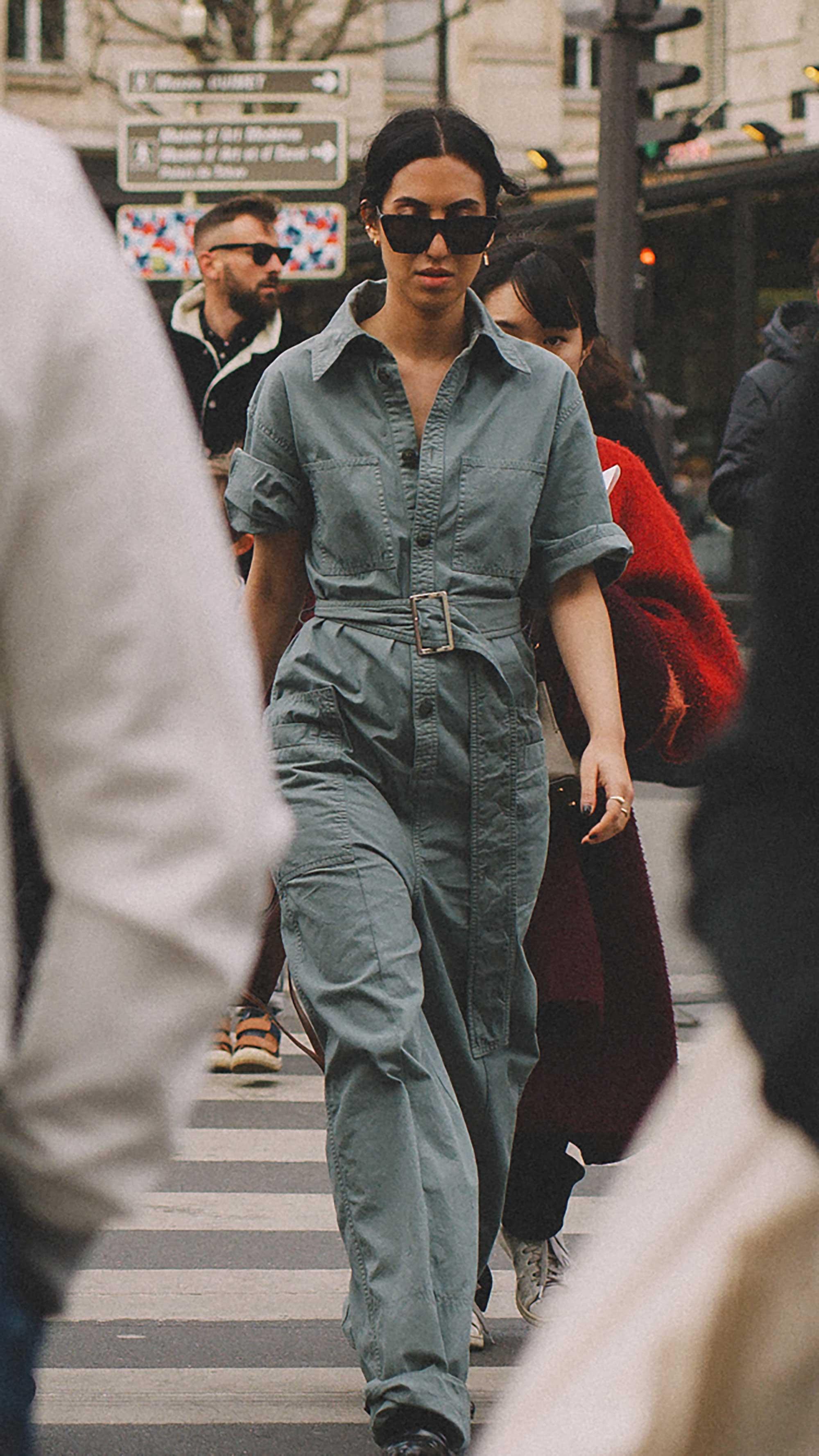 Best outfits of Paris Fashion Week street style day three PFW FW19 - 46.jpg