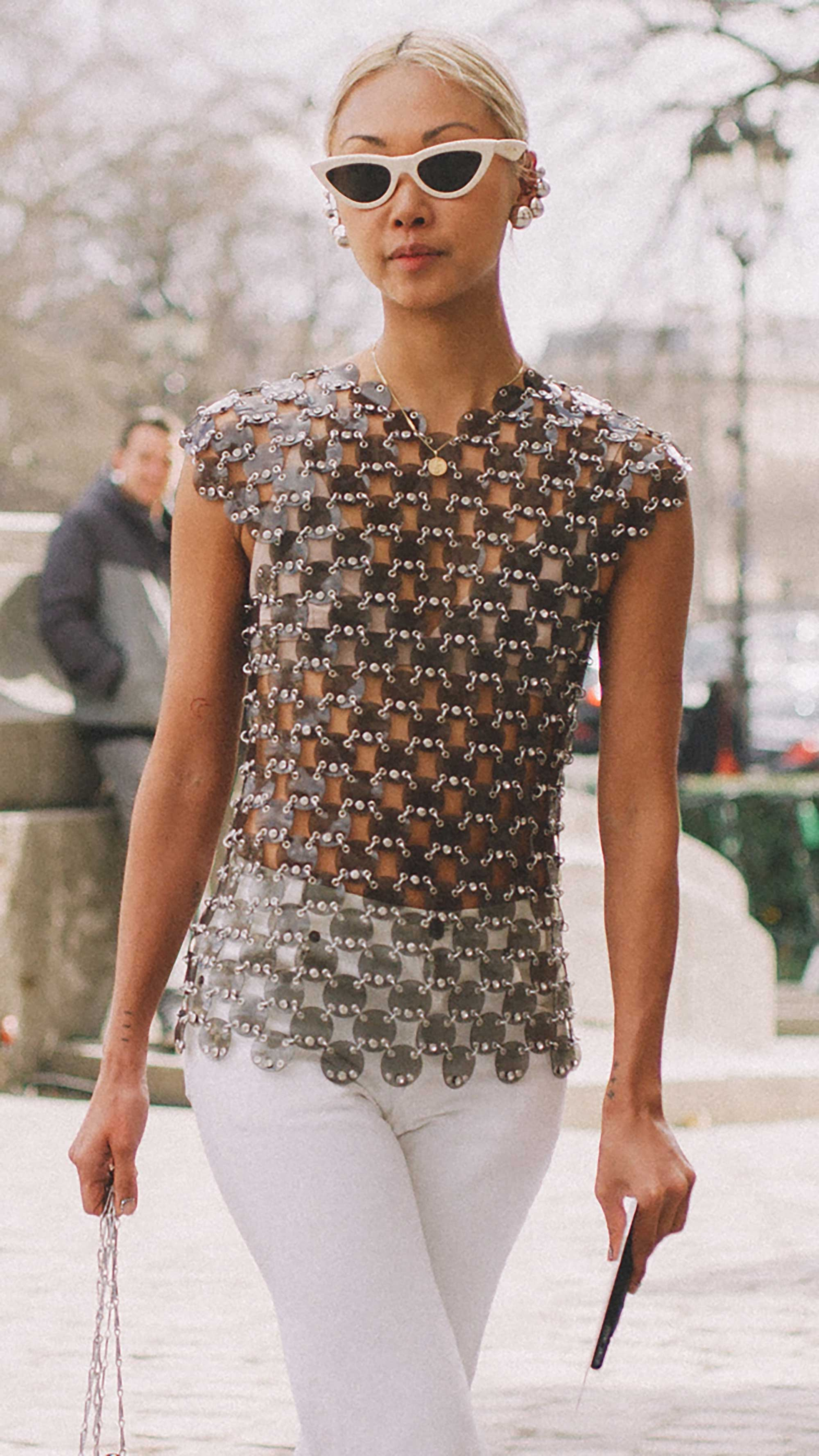 Best outfits of Paris Fashion Week street style day three PFW FW19 - 68.jpg