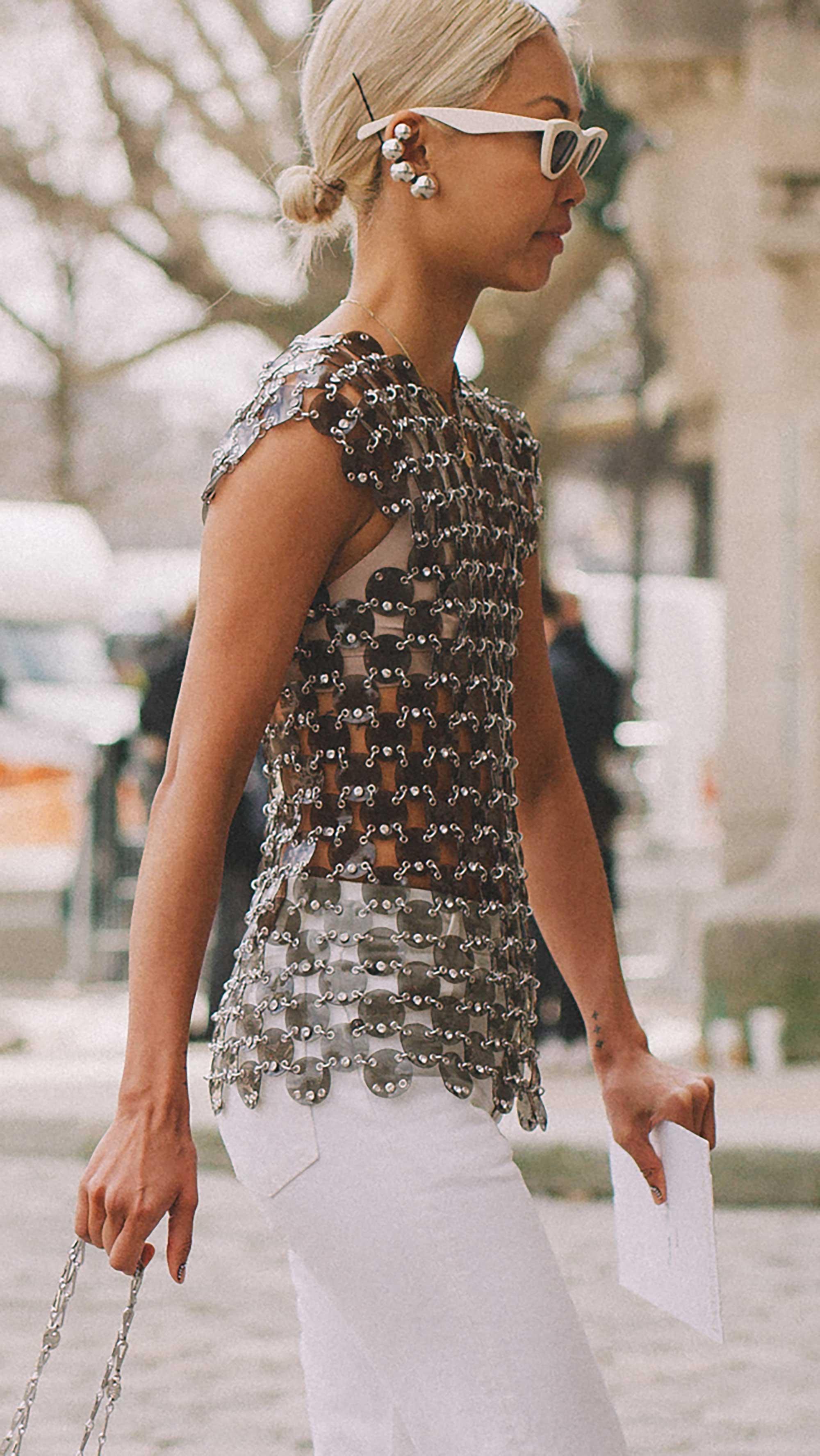 Best outfits of Paris Fashion Week street style day three PFW FW19 - 69.jpg