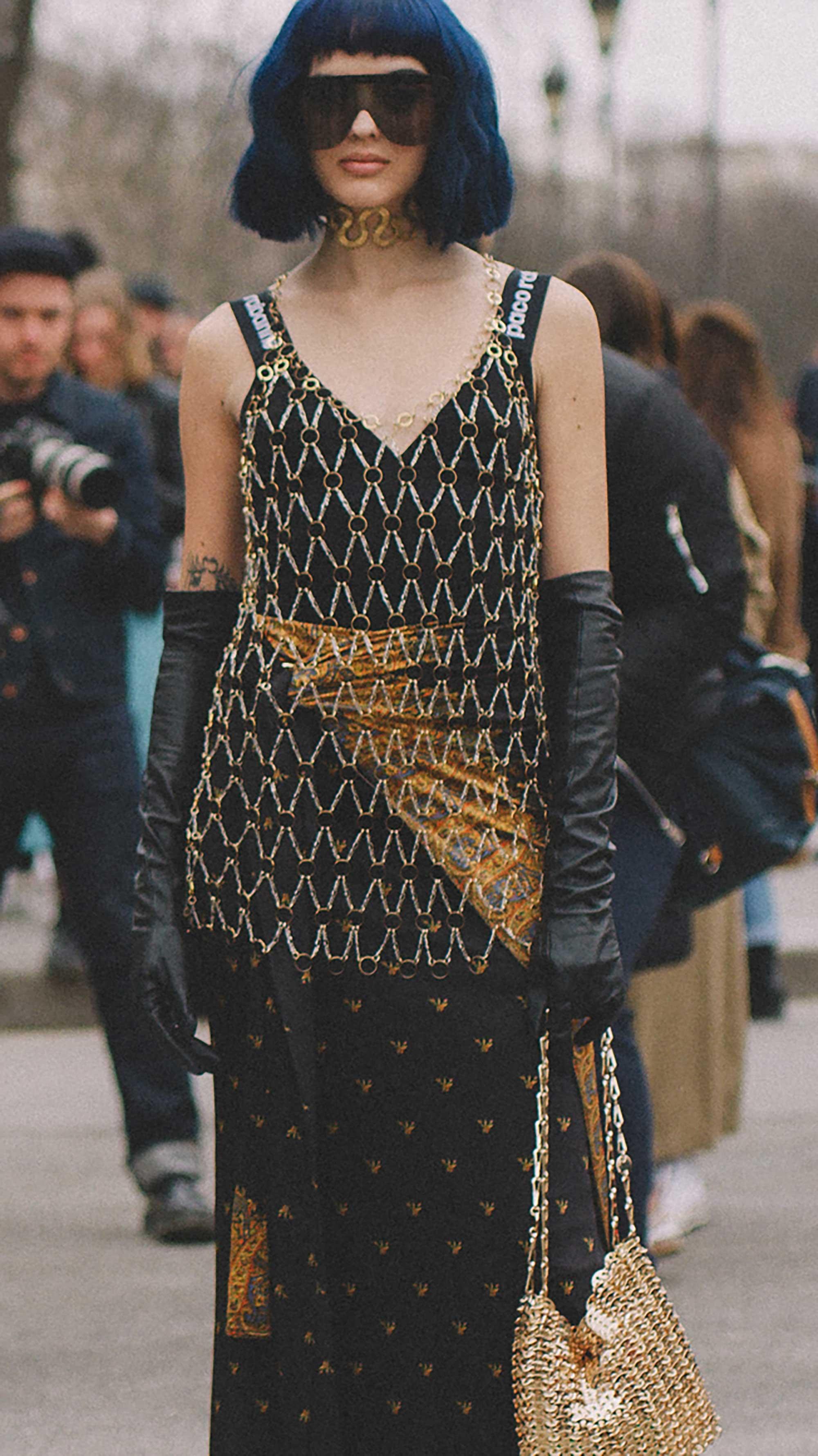 Best outfits of Paris Fashion Week street style day three PFW FW19 - 72.jpg