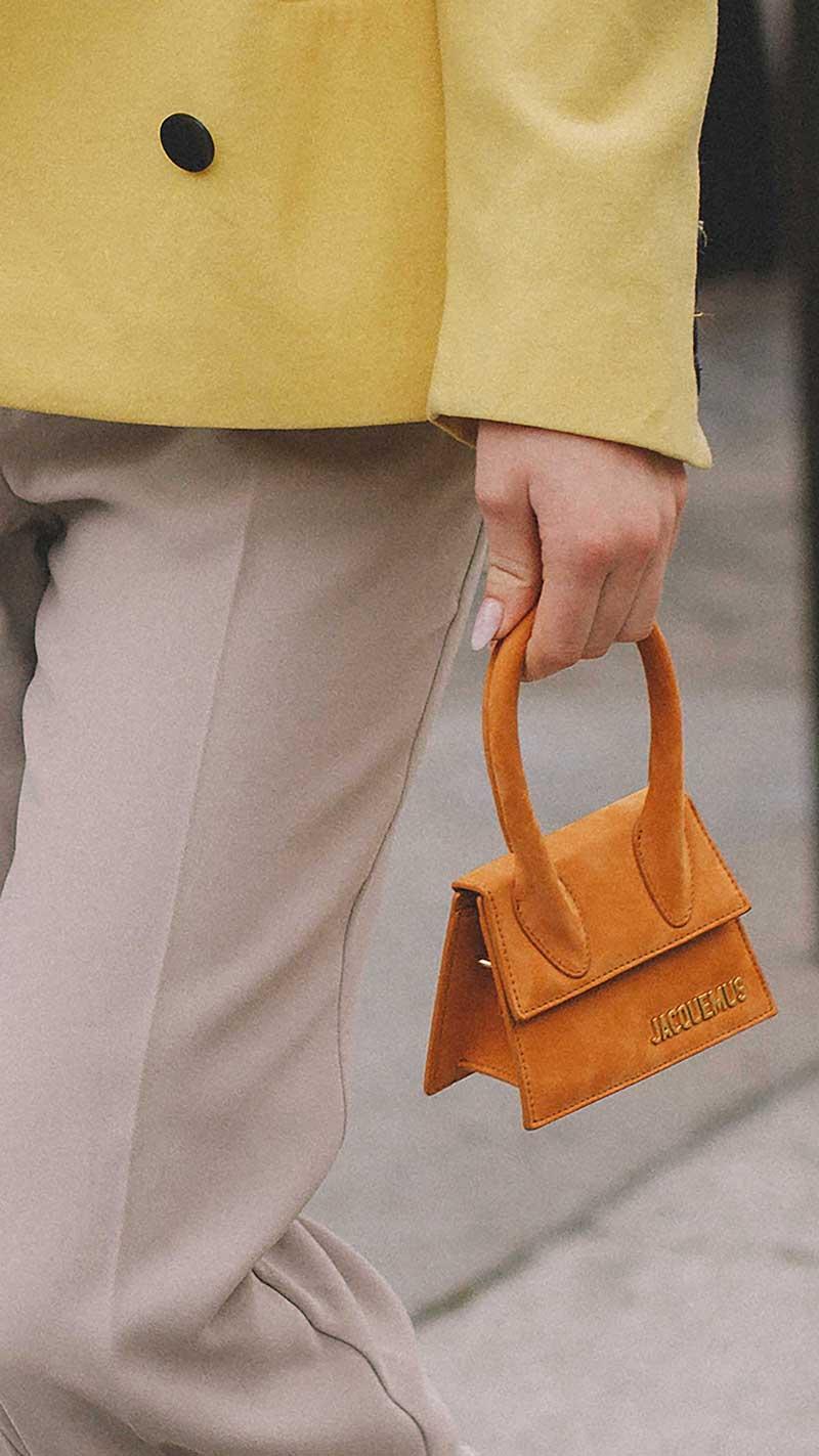 4. Jacquemus - Le sac chiquito suede Mini Bag