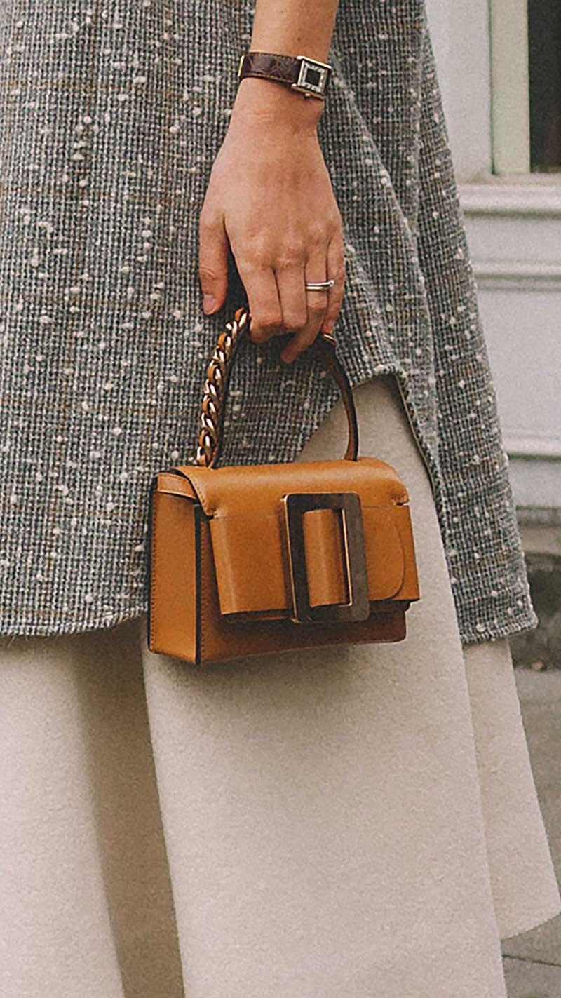 13. Boyy - Fred 23 buckled leather shoulder bag