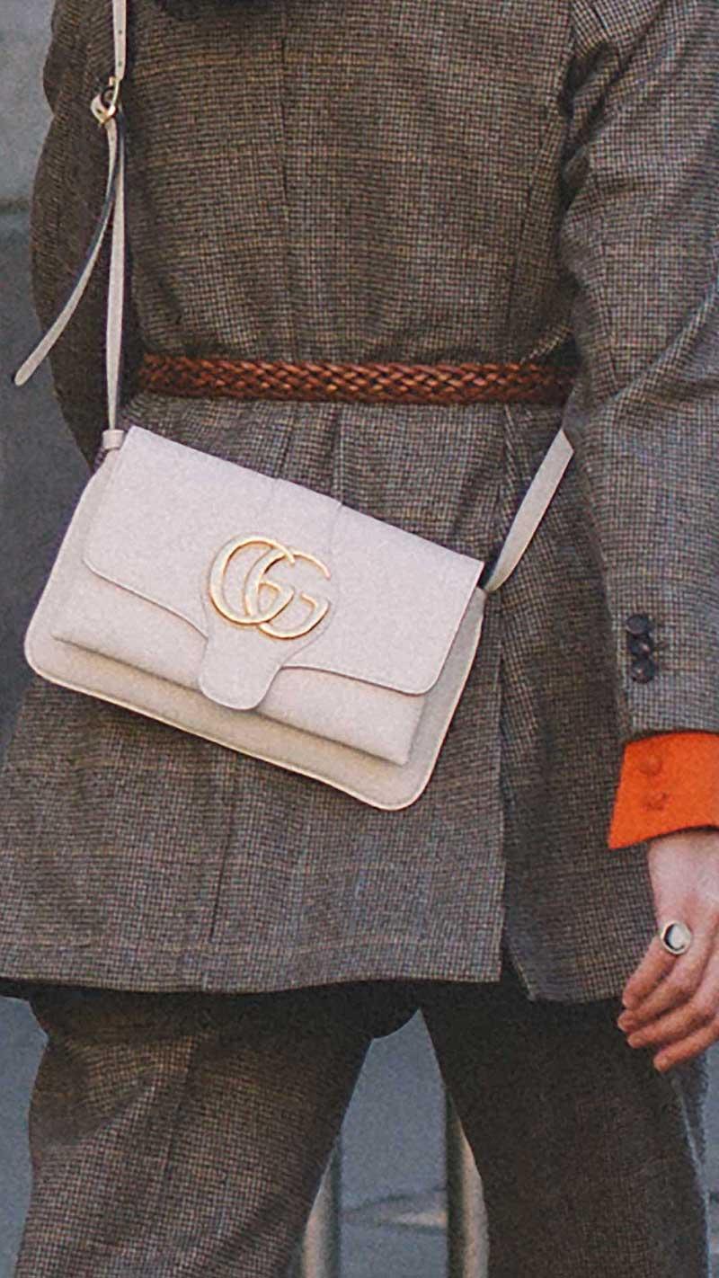 14. Gucci - Arli medium leather shoulder bag
