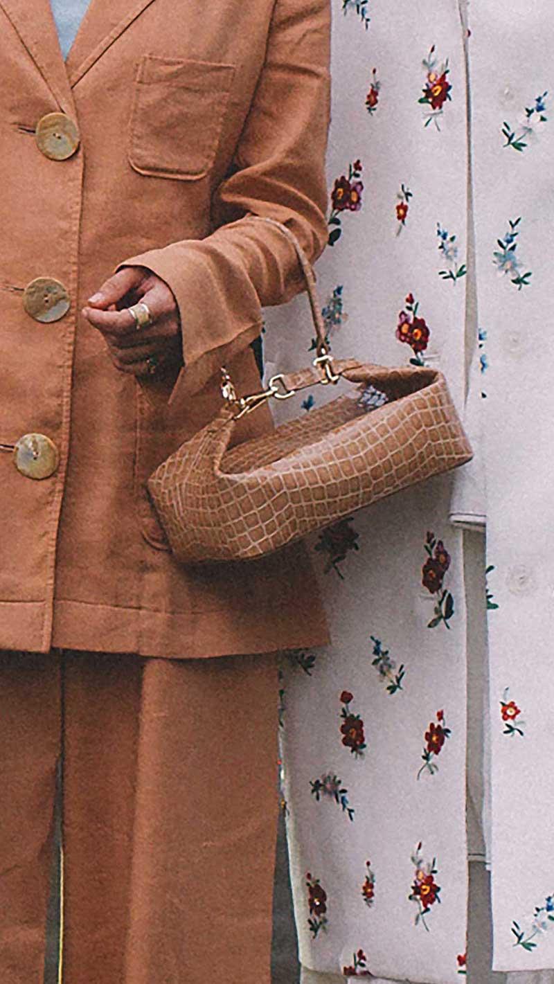16. Rejina Pyo - Olivia croc-effect leather tote
