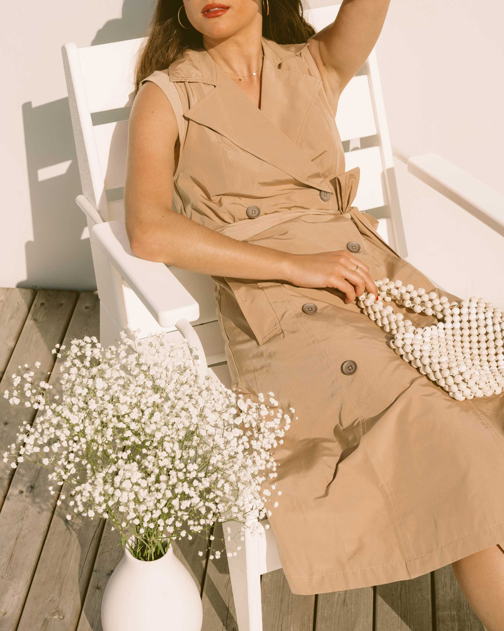 Sarah Butler of Sarah Styles Seattle wears BCBGMaxazria sleeveless trench flared dress for the perfect spring outfit | @sarahchristine -11.jpg