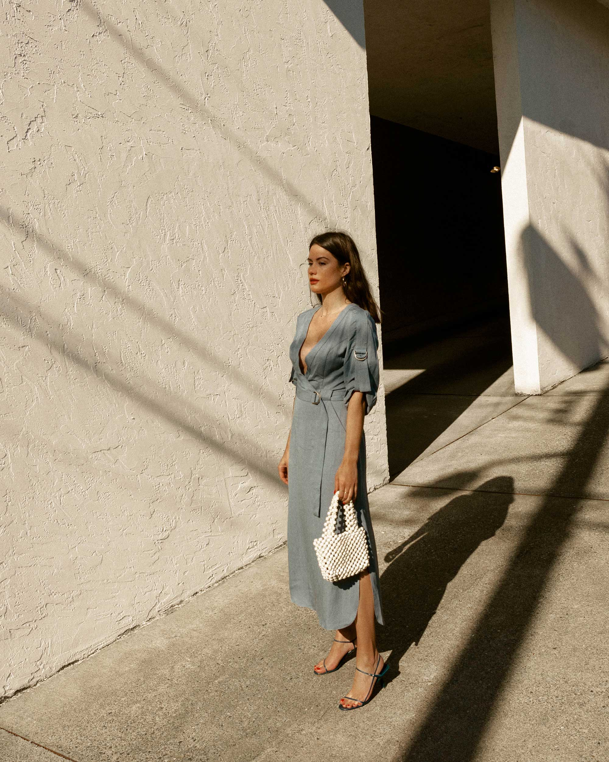 Sarah Butler of Sarah Styles Seattle wears BCBGMAXAZRIA Wrap Trench Dress in for the perfect spring outfit | @sarahchristine11.jpg