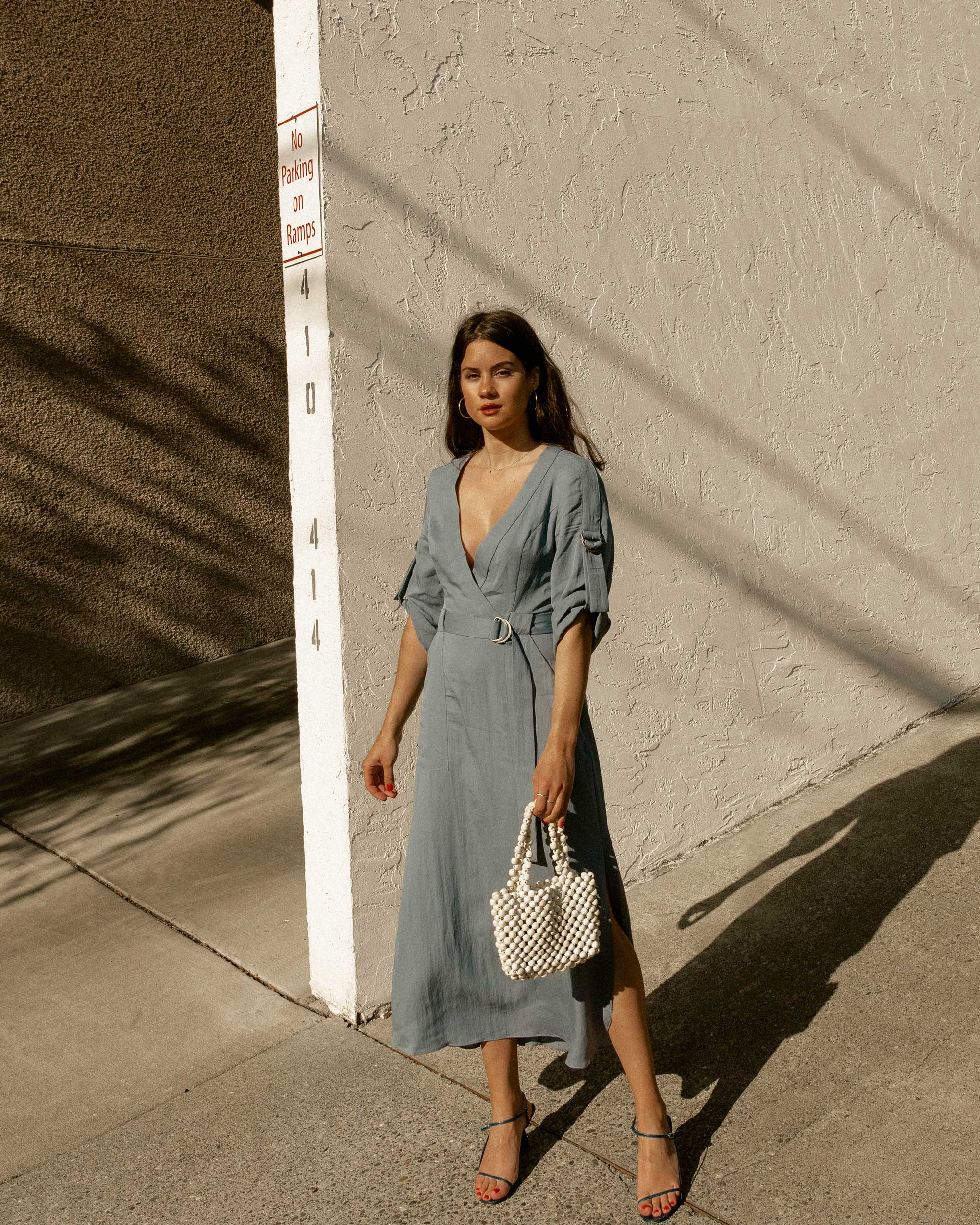 Sarah Butler of Sarah Styles Seattle wears BCBGMAXAZRIA Wrap Trench Dress in for the perfect spring outfit | @sarahchristine8.jpg