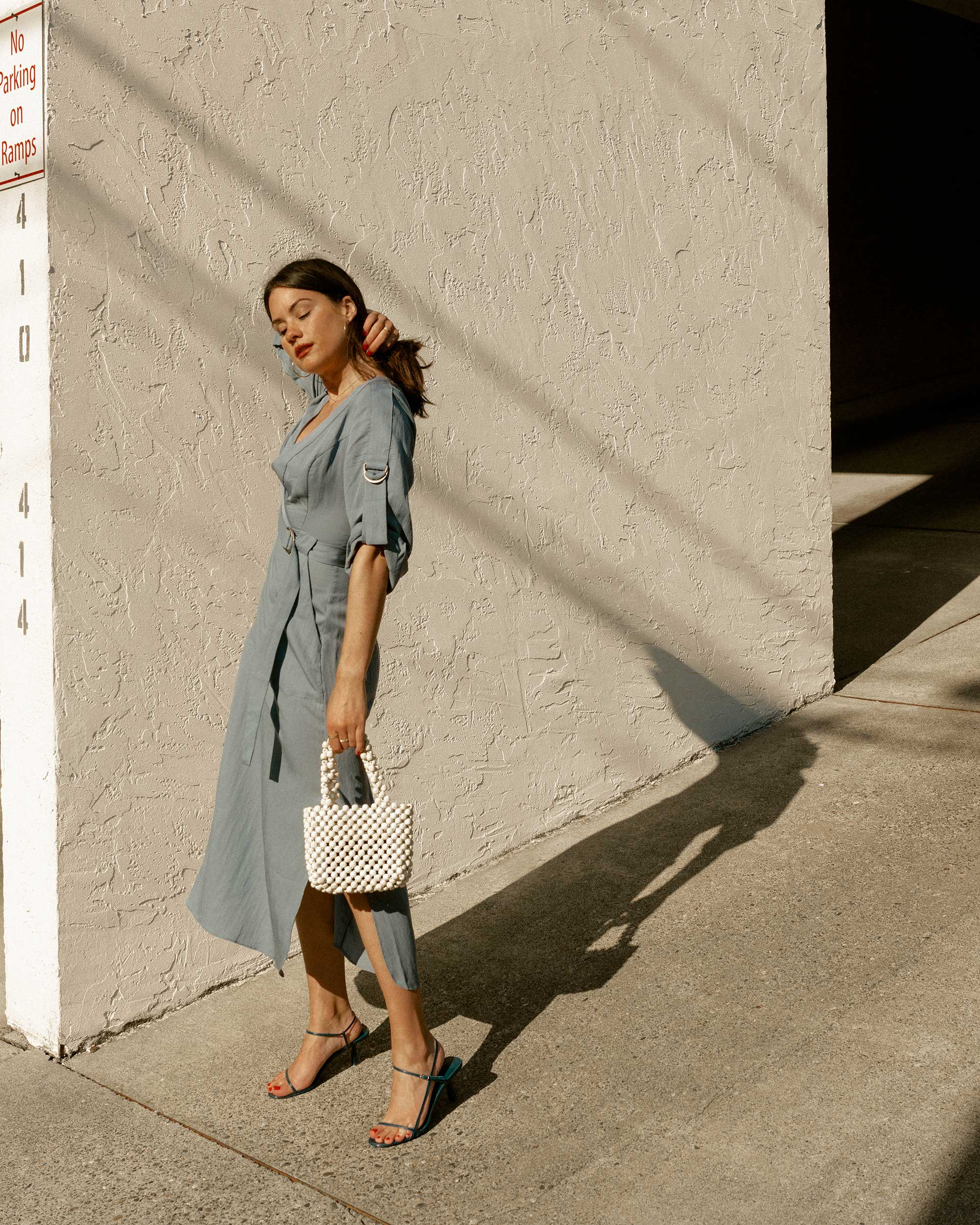 Sarah Butler of Sarah Styles Seattle wears BCBGMAXAZRIA Wrap Trench Dress in for the perfect spring outfit | @sarahchristine2.jpg