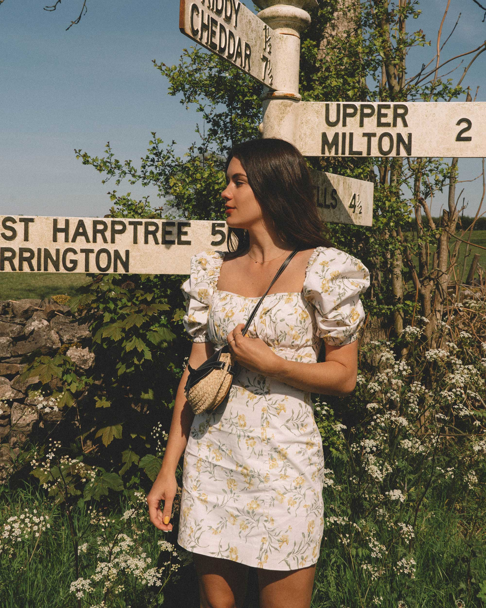 Sarah Butler of Sarah Styles Seattle explores the English Countryside wearing And Other Stories summer outfits | @sarahchristine 1.jpg