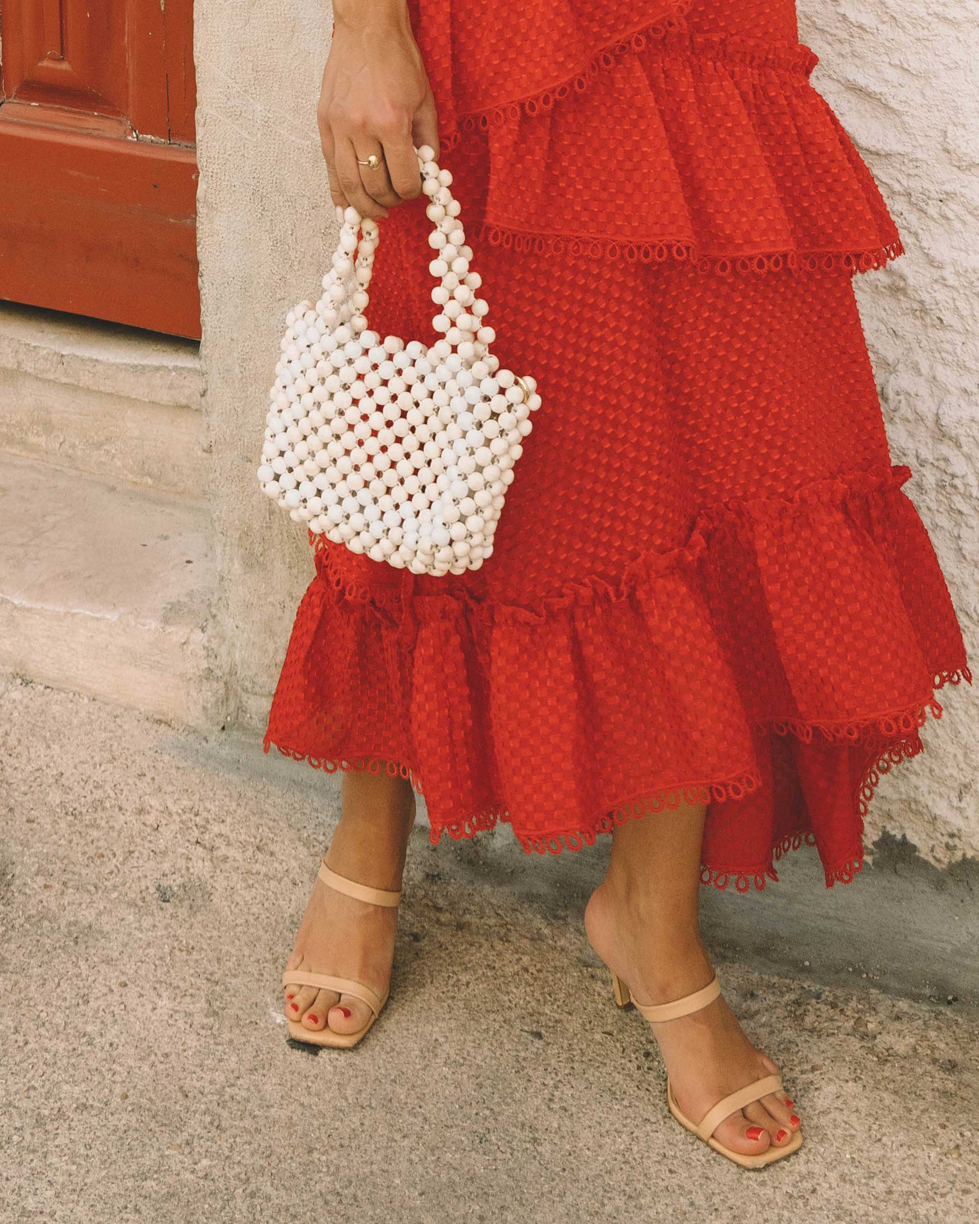 Sarah Butler of Sarah Styles Seattle wears THREE FLOOR Rouge tiered midi dress in Lisbon, Portugal | @sarahchristine 9.jpg